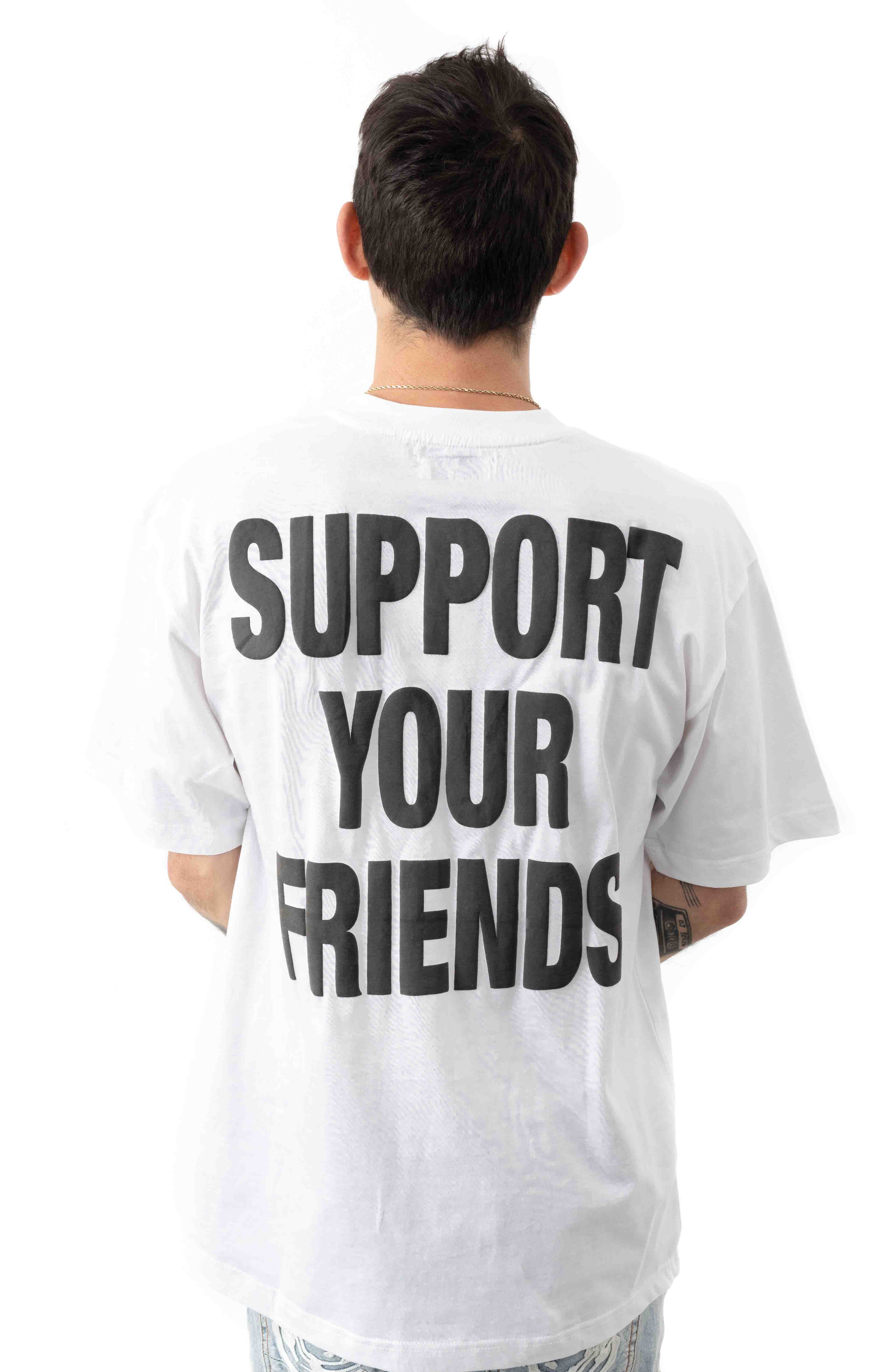 Smiley Friends T-Shirt - White  3