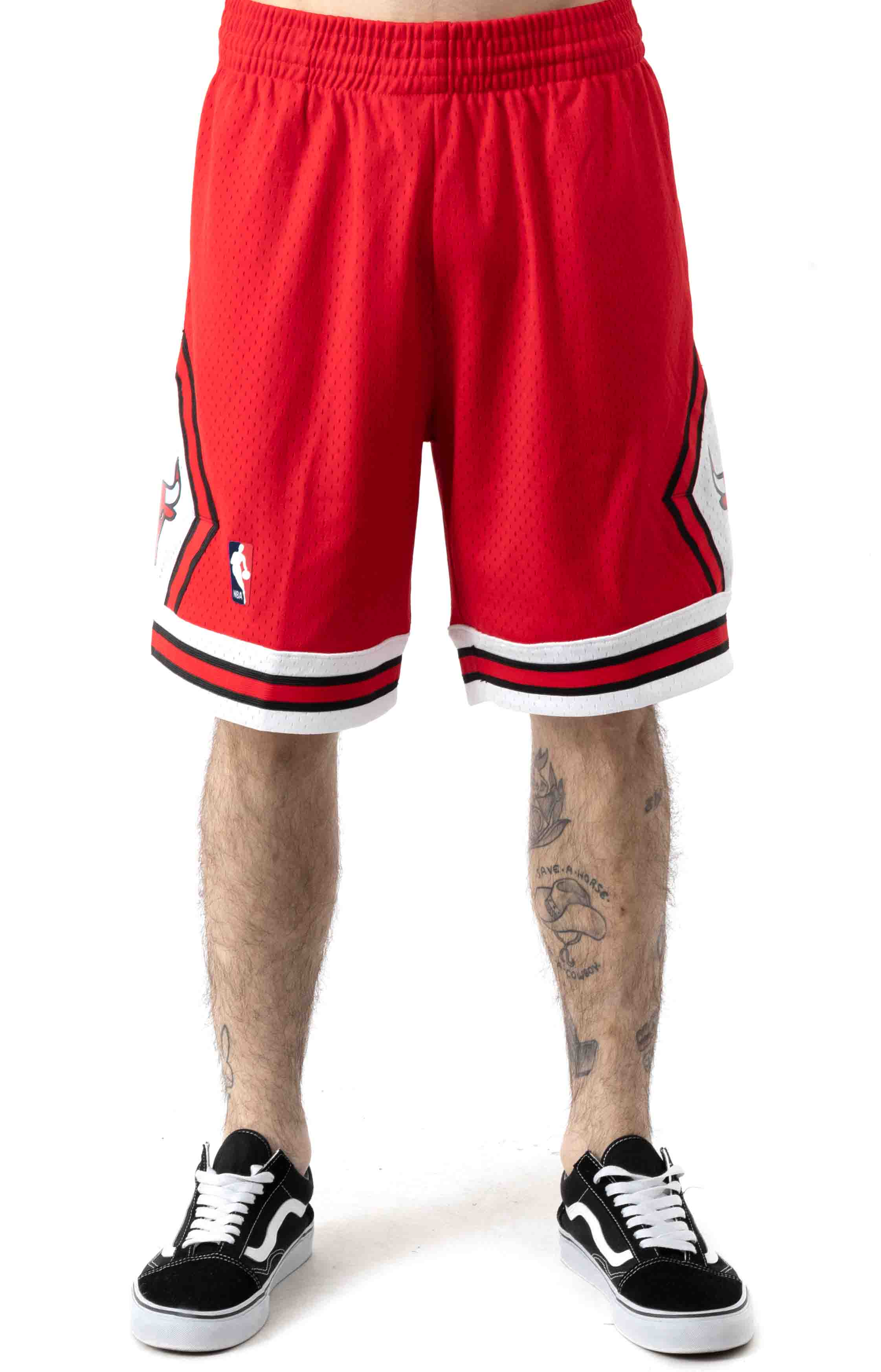 NBA Swingman Road Shorts - Bulls 97-98 2