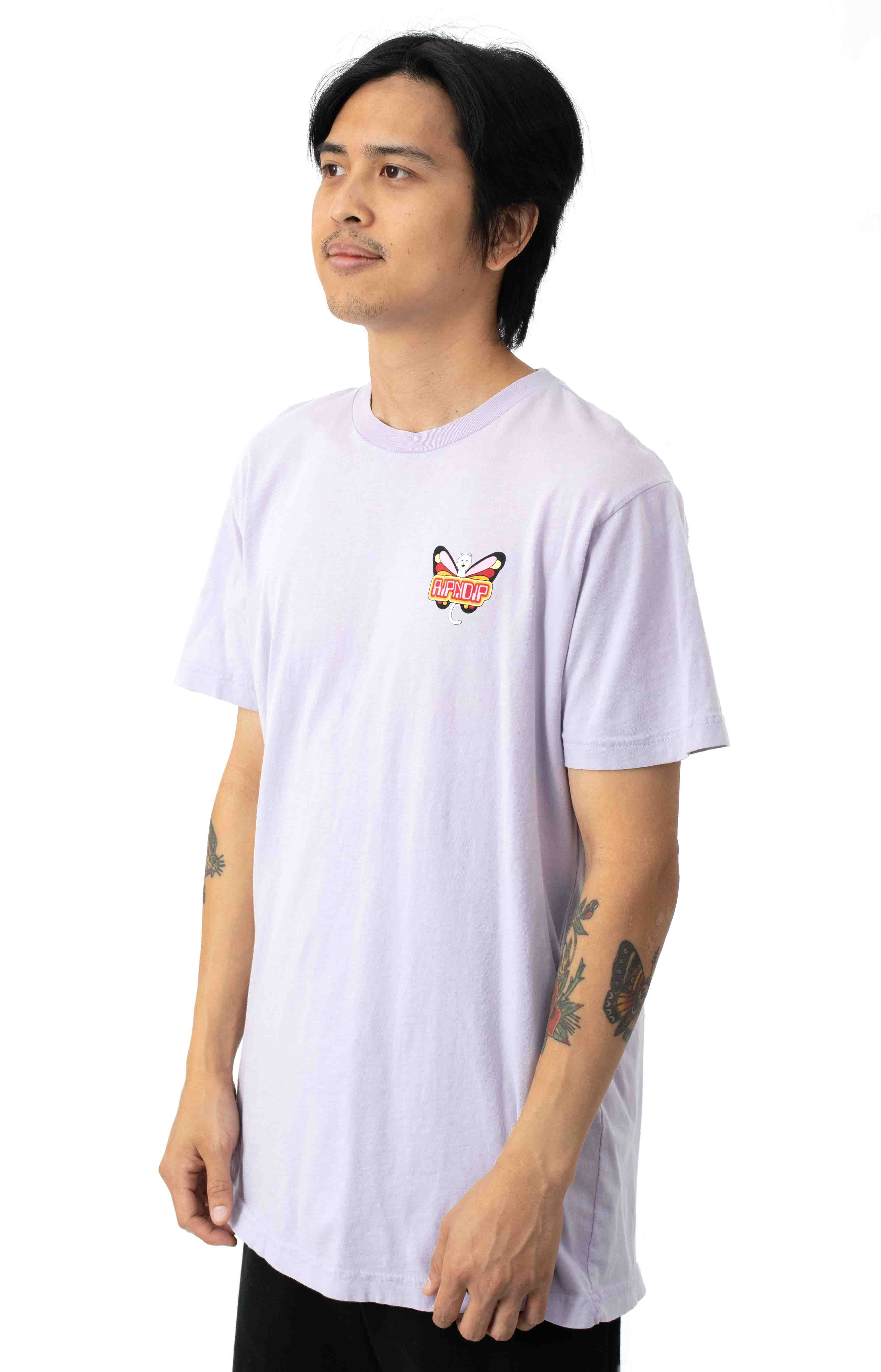 Butterfly T-Shirt - Lavender  3