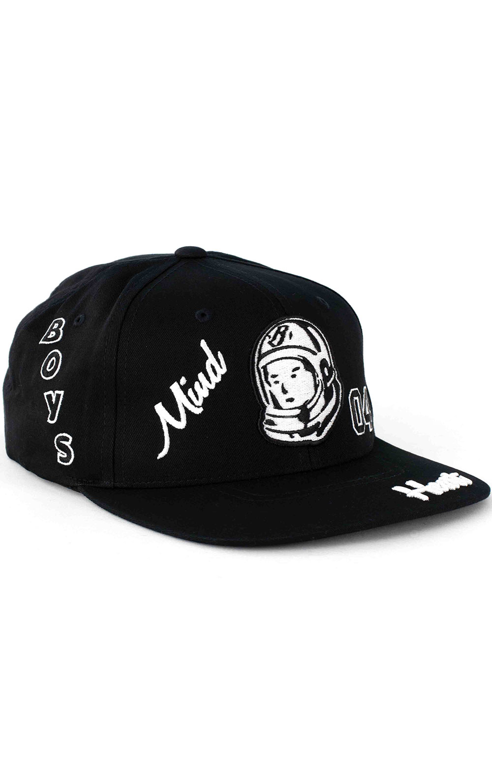 BB Captain Snap-Back Hat - Black 3