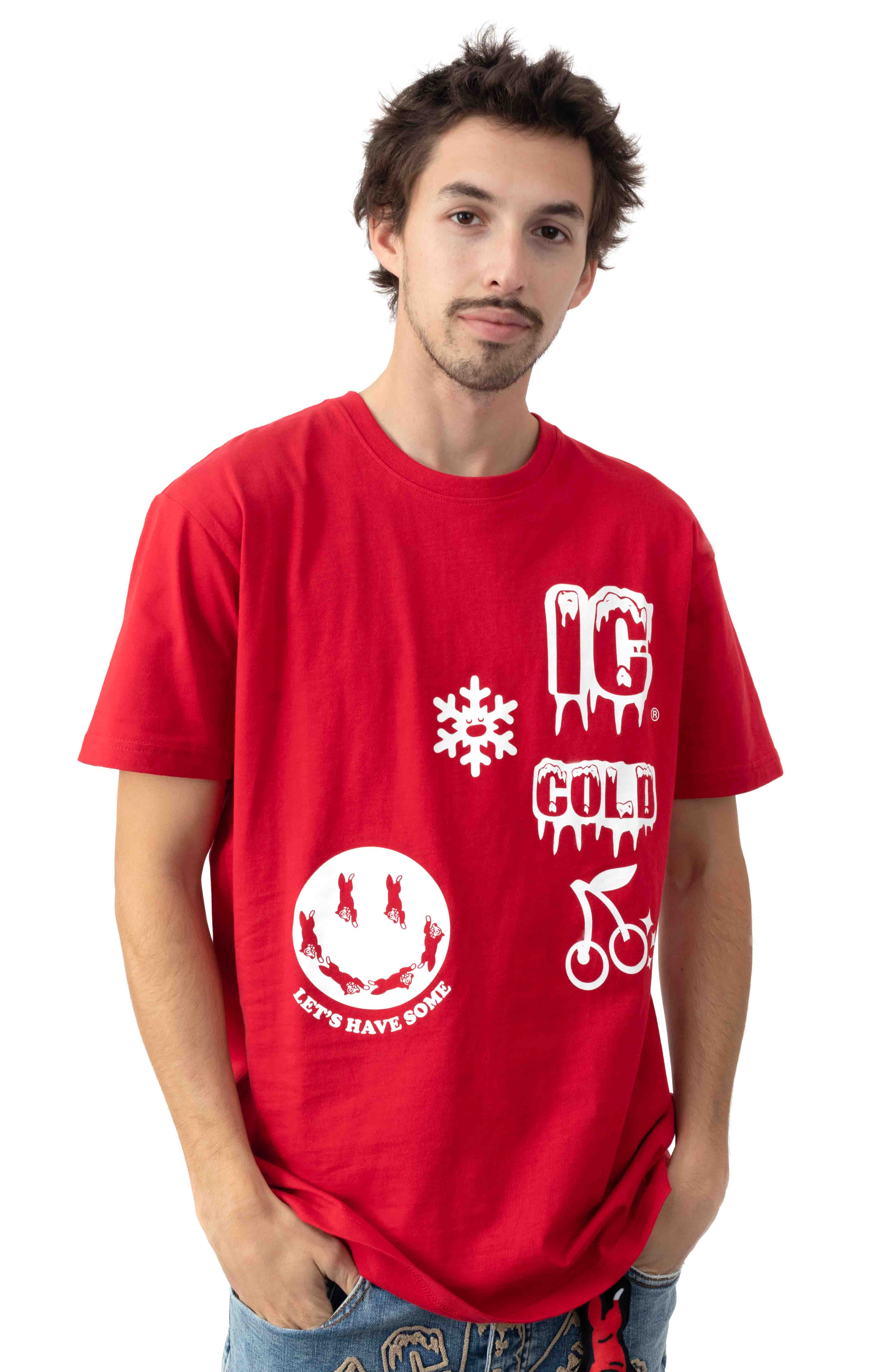 Let's Have Some T-Shirt - Tango Red