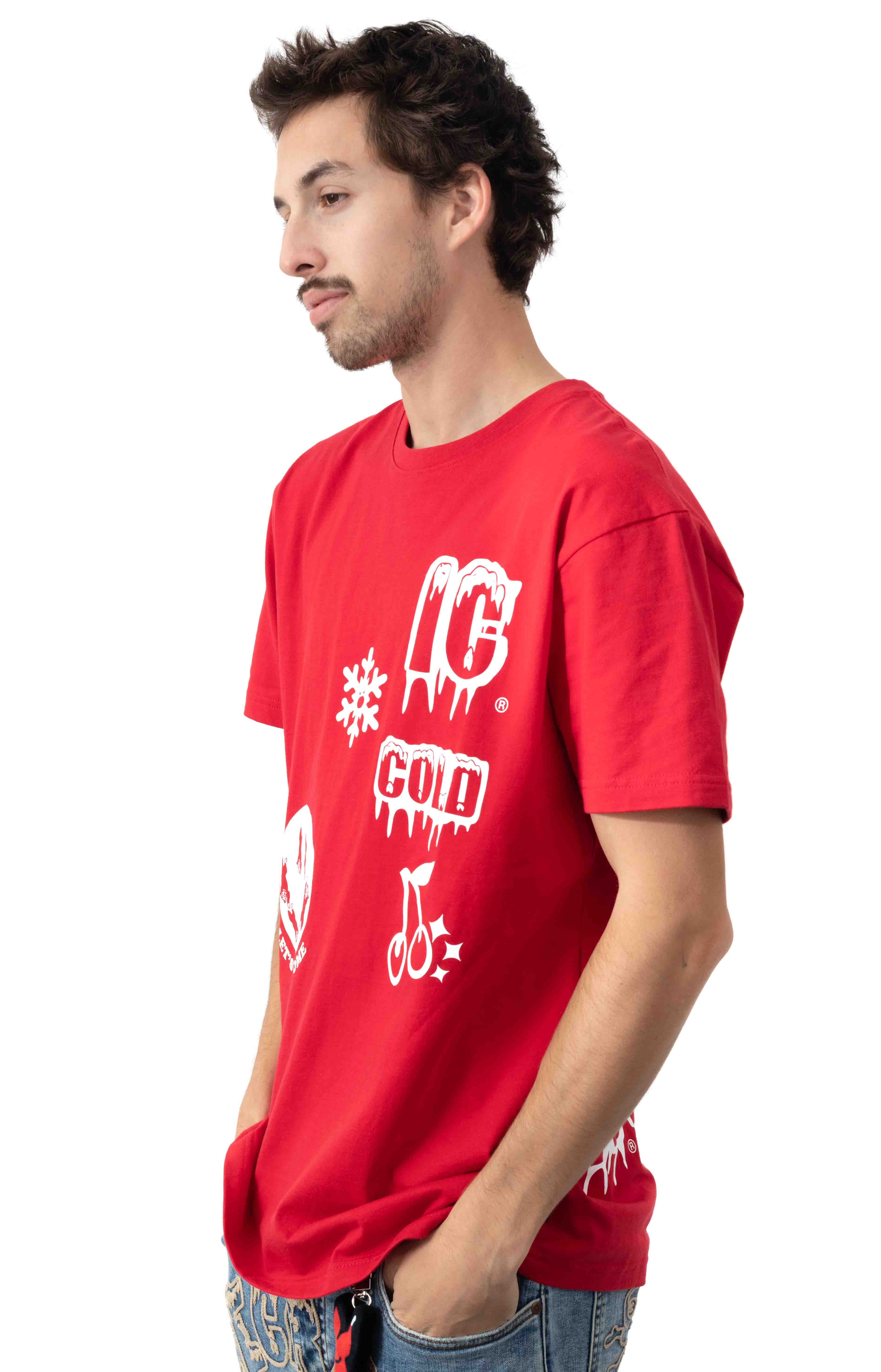 Let's Have Some T-Shirt - Tango Red  2