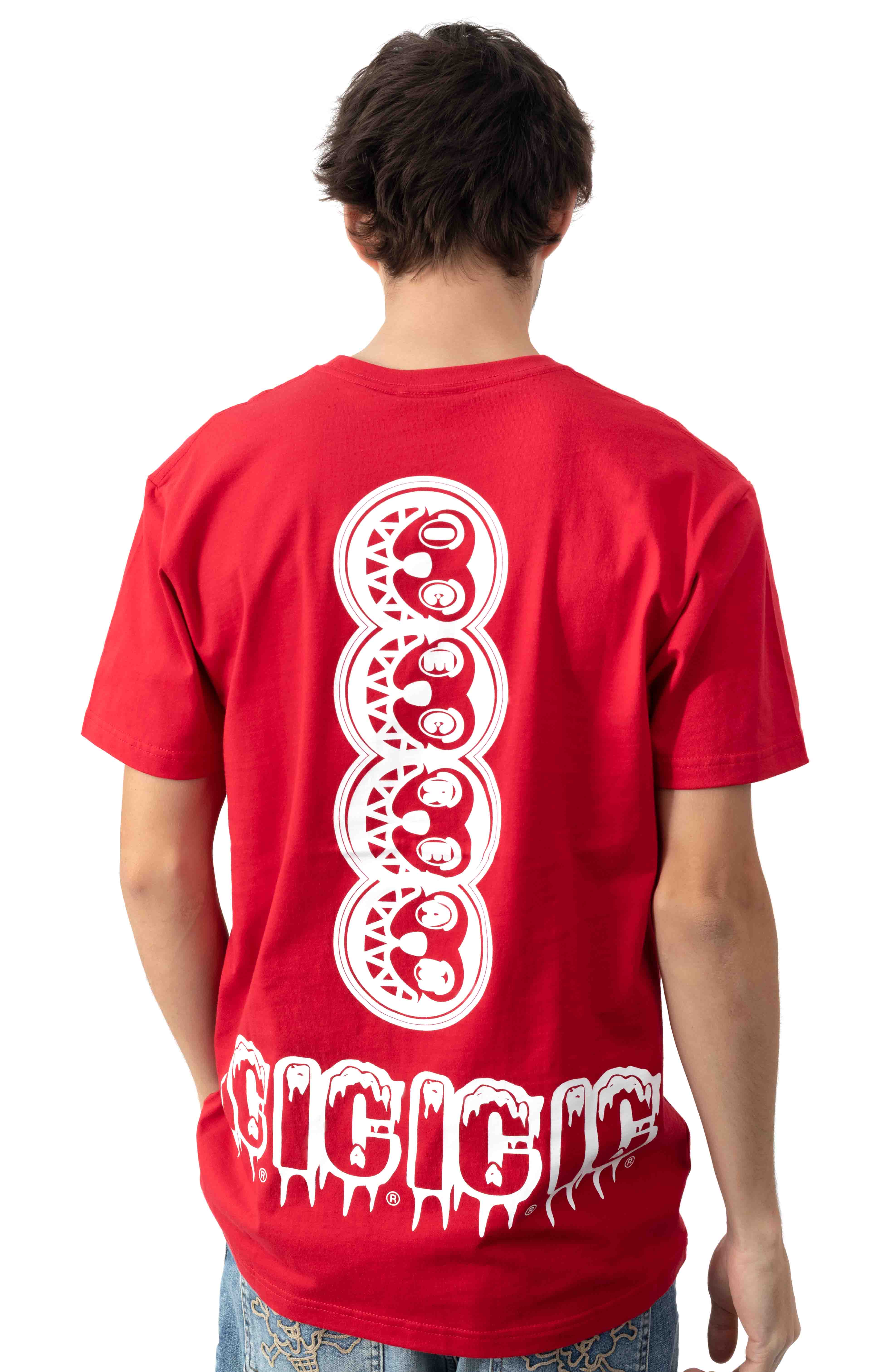 Let's Have Some T-Shirt - Tango Red  3