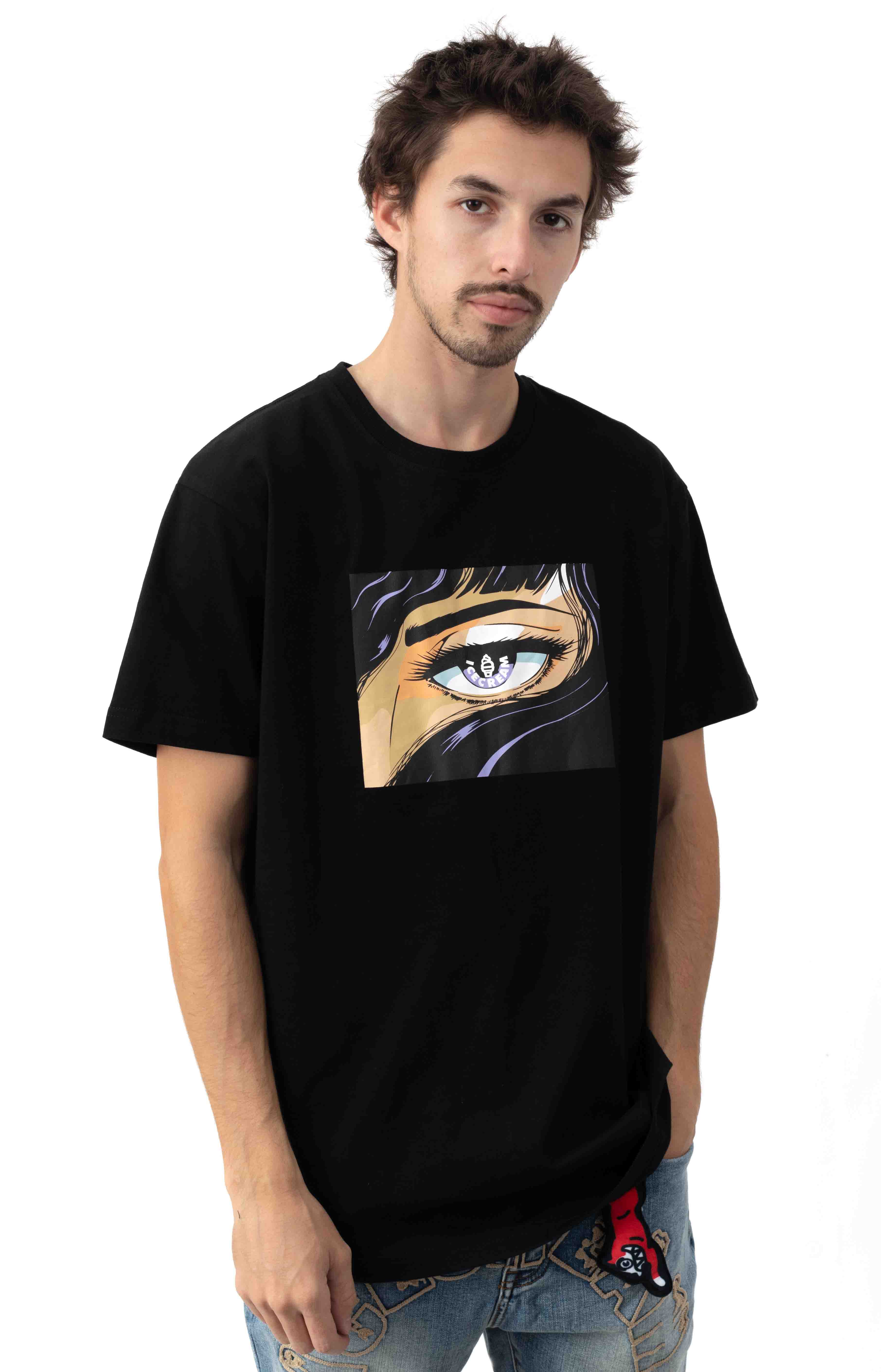Apple Of My Eye T-Shirt - Black