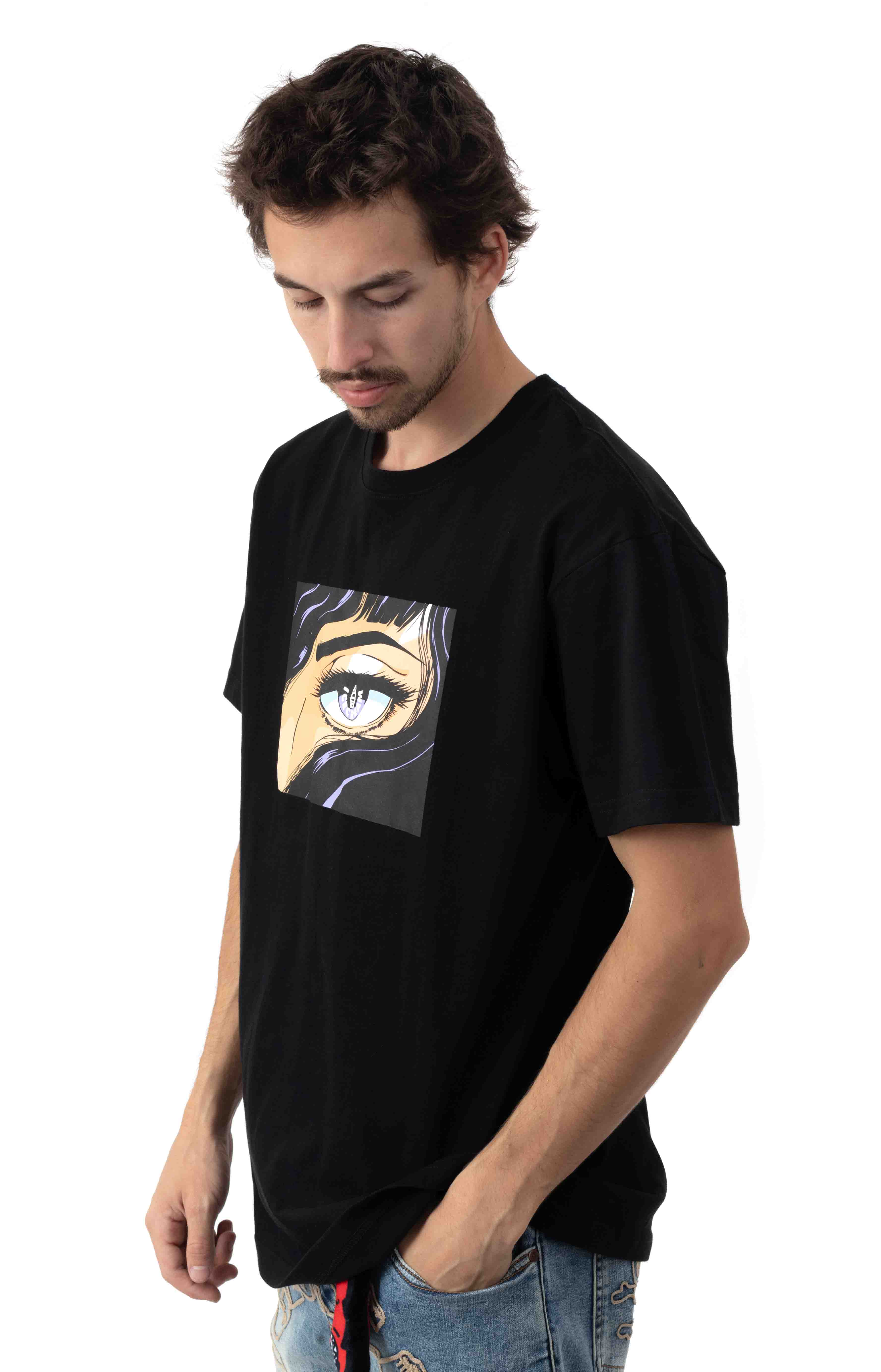 Apple Of My Eye T-Shirt - Black  2