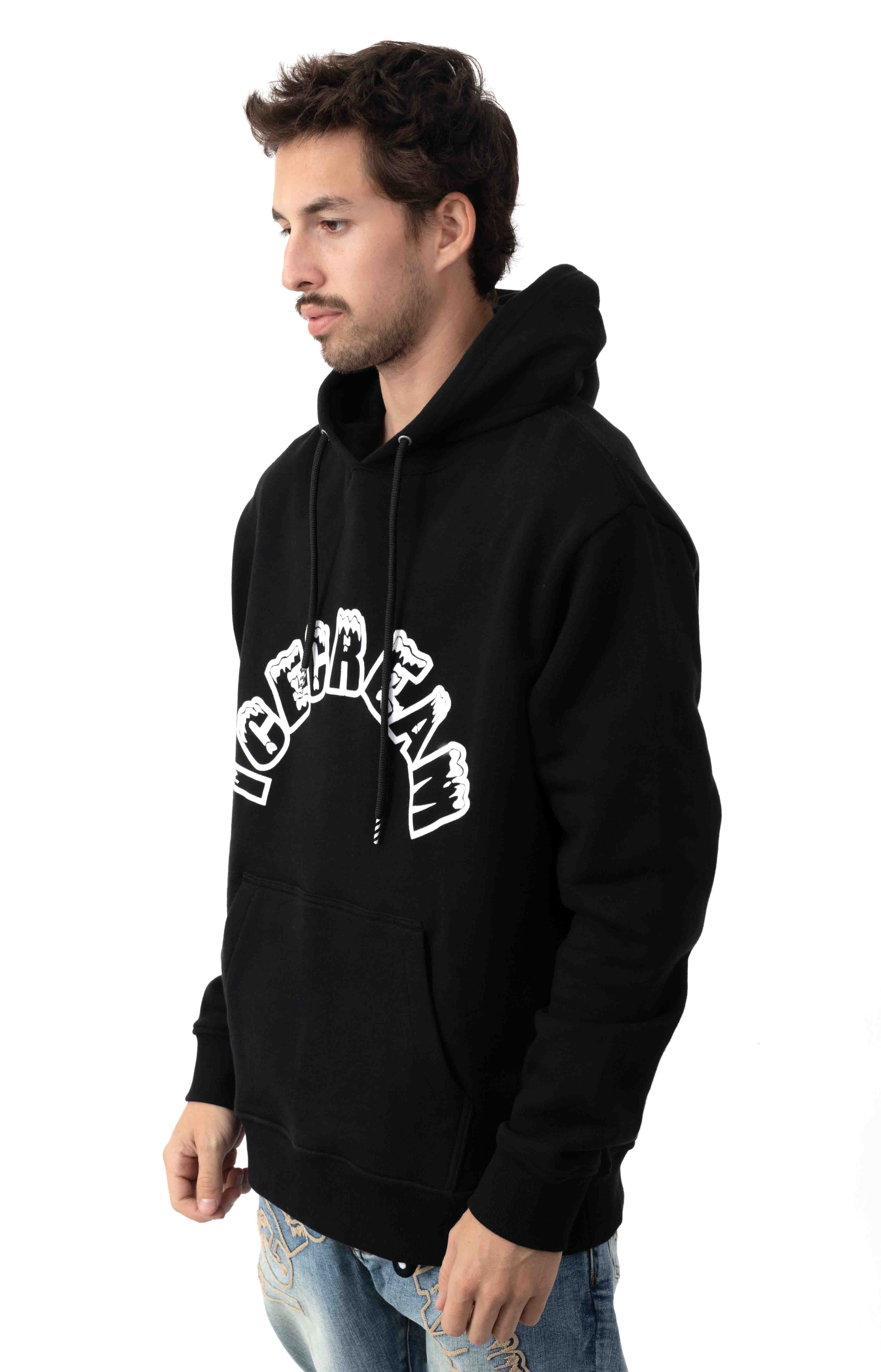 Arch Pullover Hoodie - Black  2