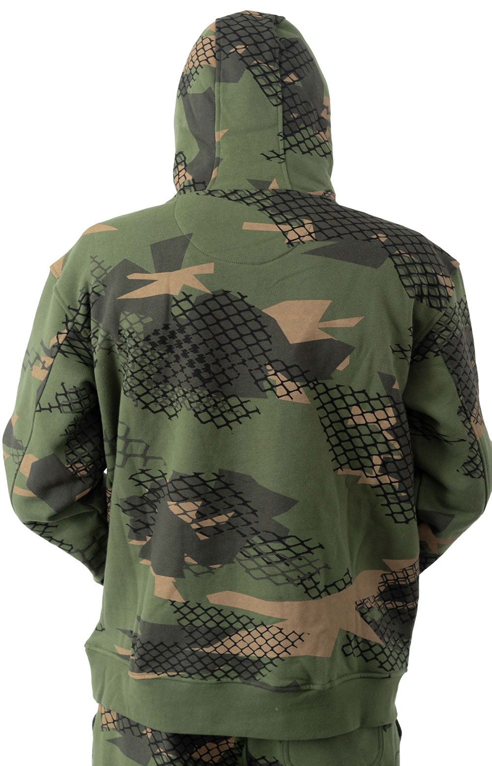 Wire Camo Pigeon Pullover Hoodie  3