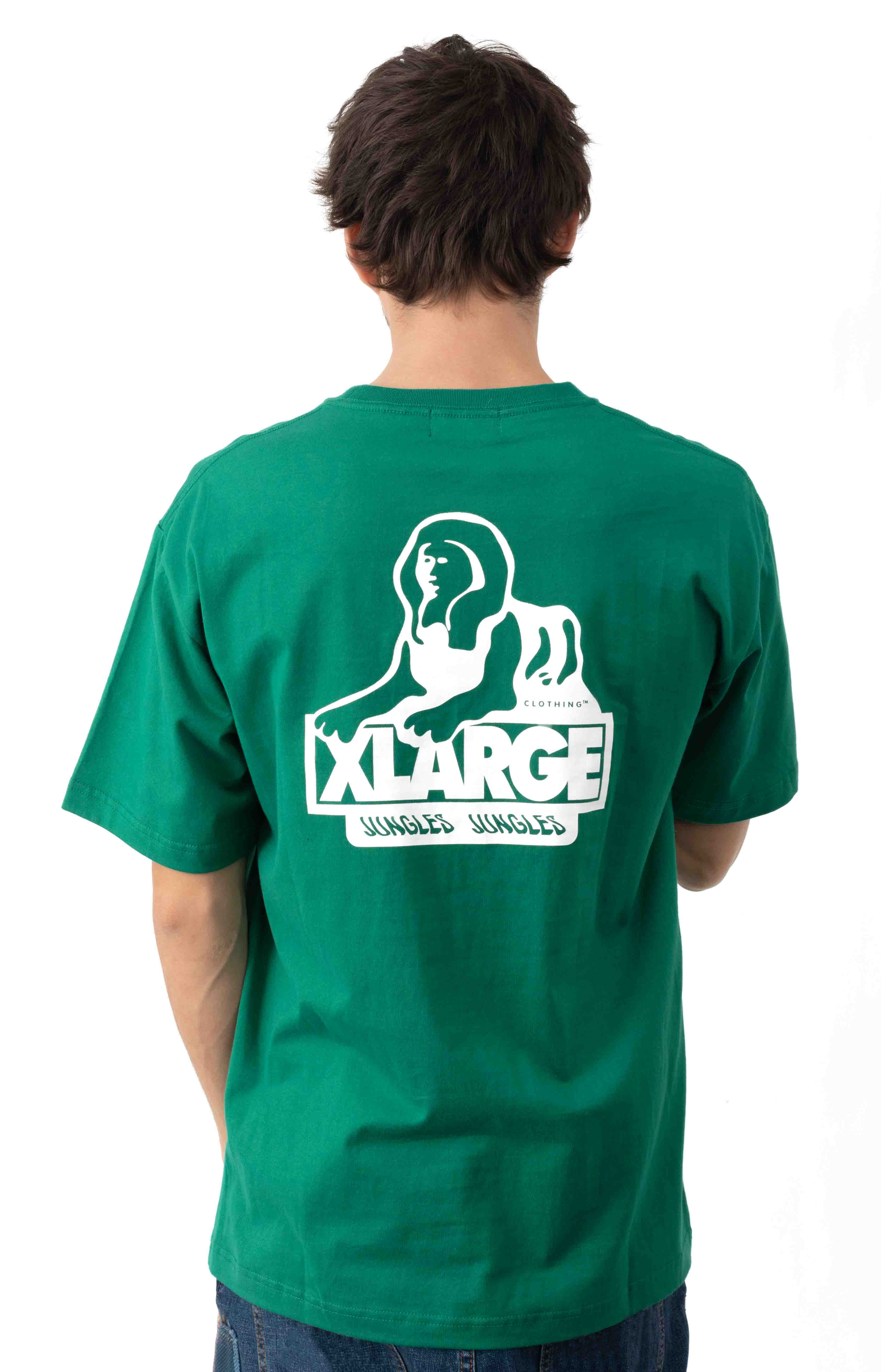 OG Sphinx Logo T-Shirt - Green  3