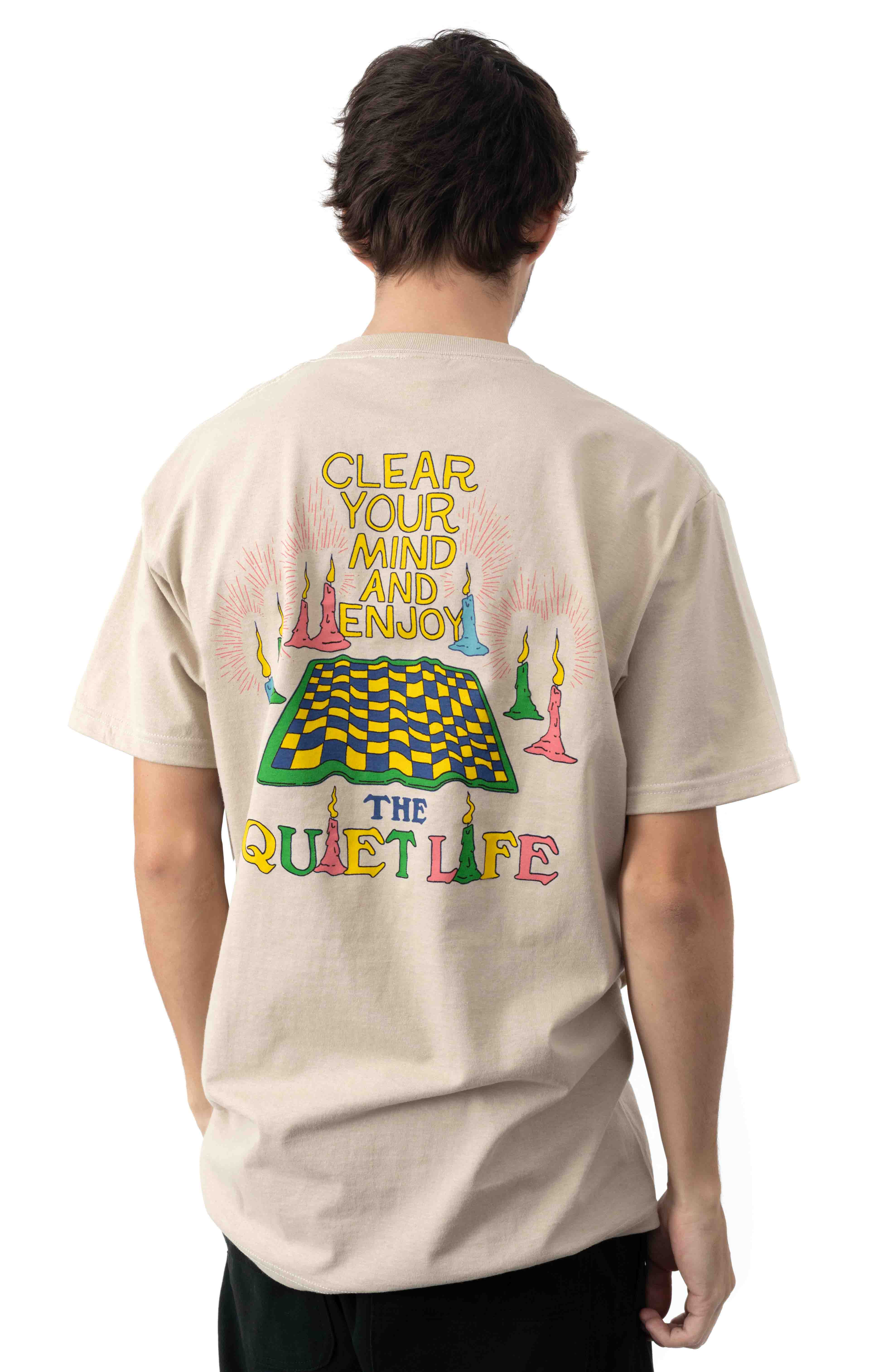 Clear Your Mind T-Shirt - Sand
