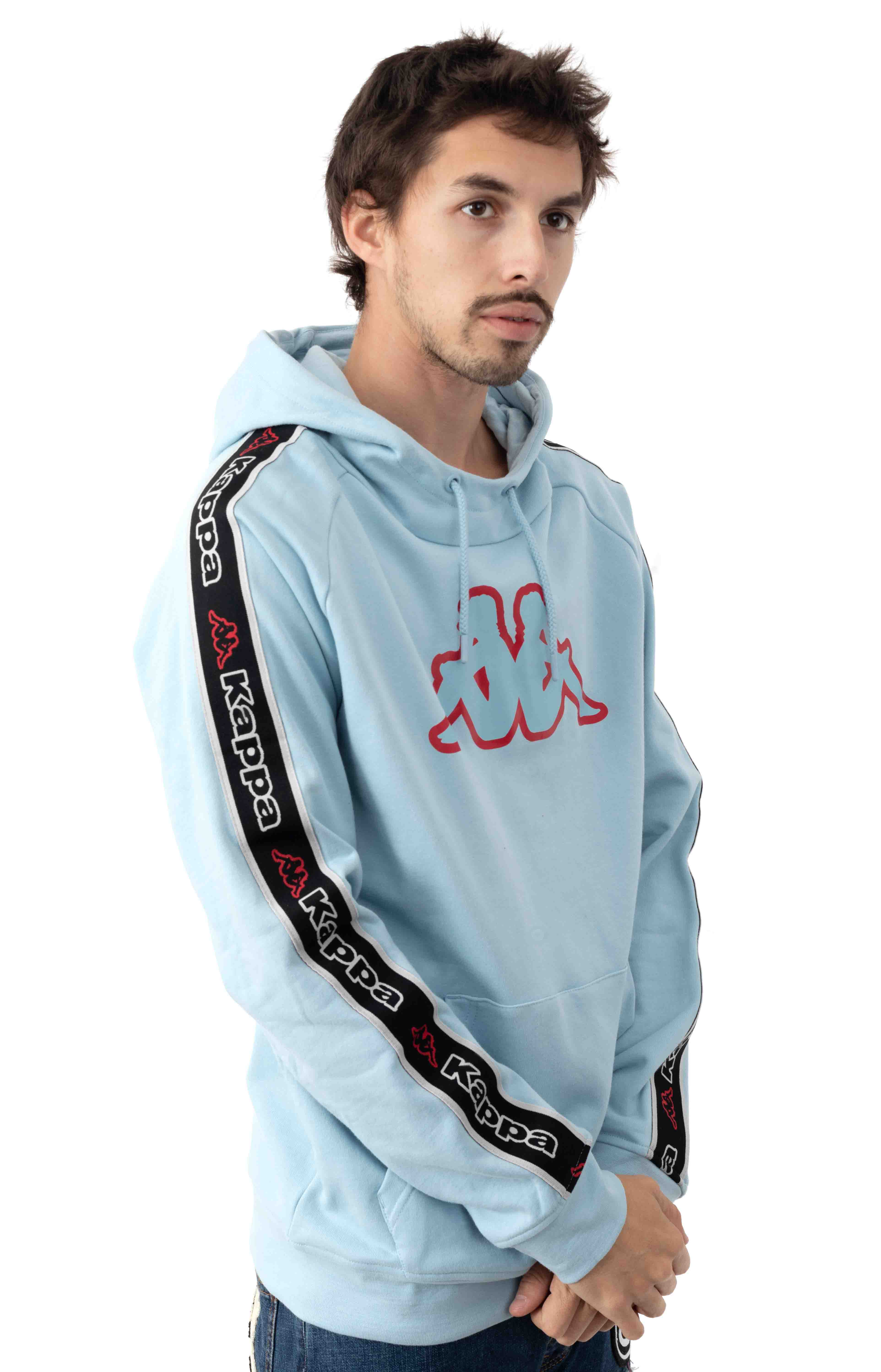 Logo Tape Apet 2 Pullover Hoodie - Blue Dream  2