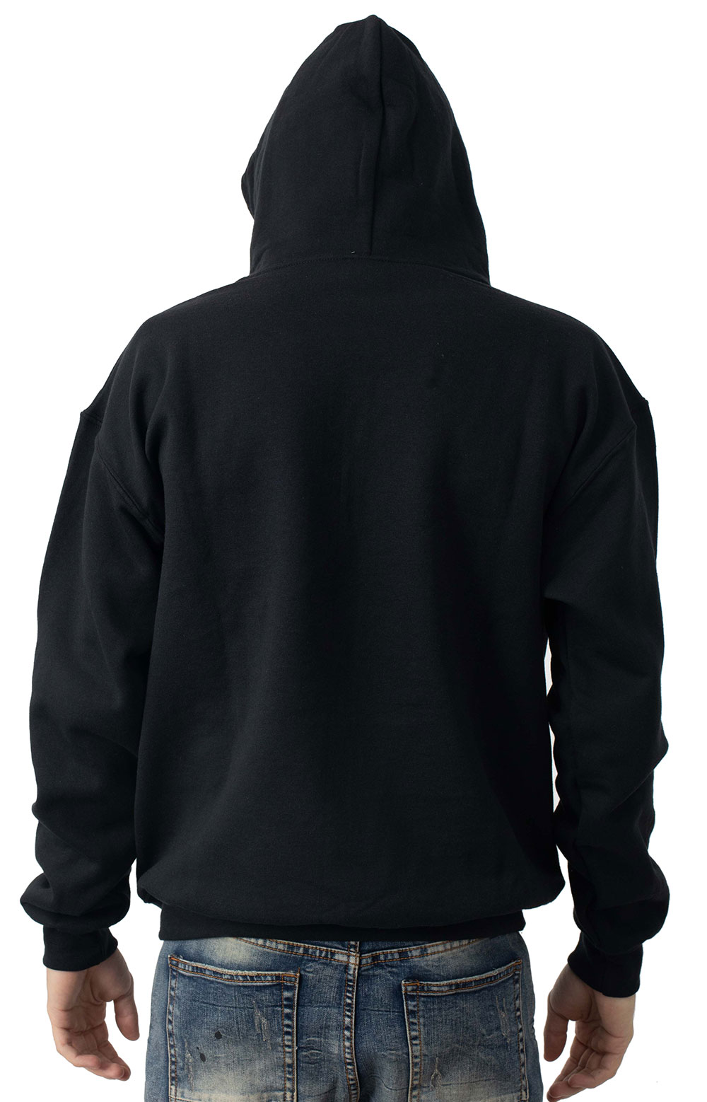 The Cow Pullover Hoodie - Black 3