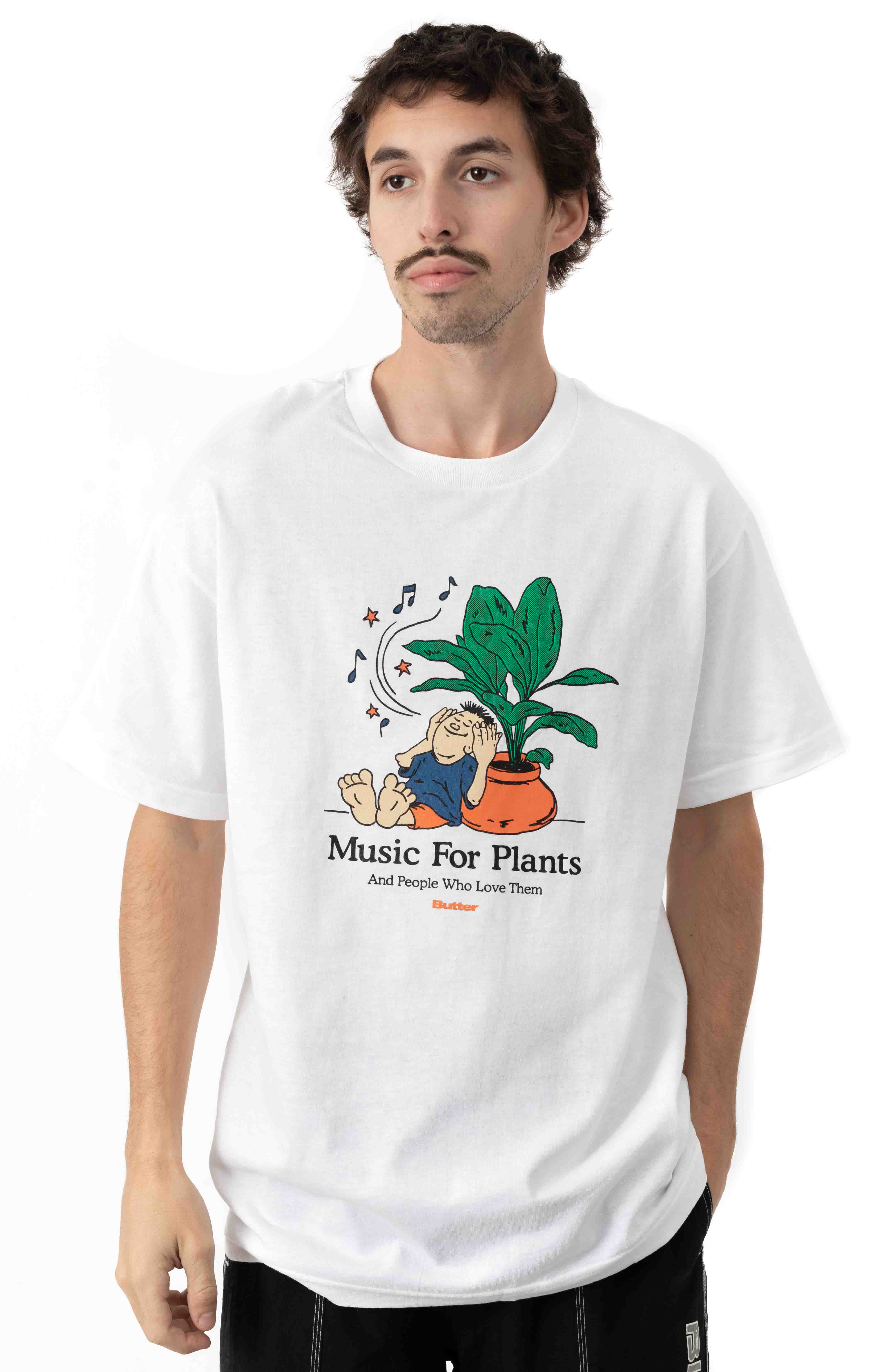Music For Plants T-Shirt - White