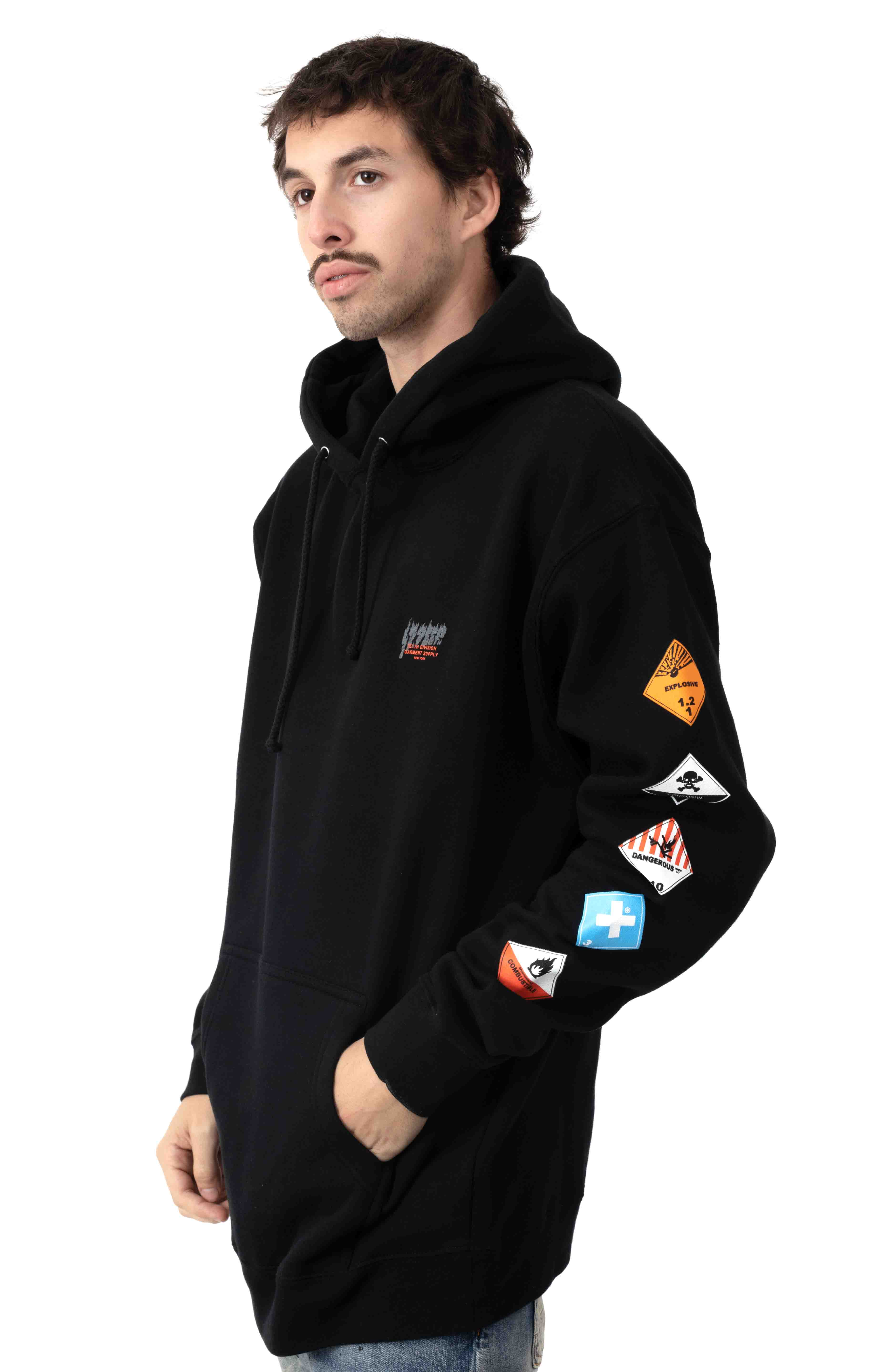 Prohibited Pullover Hoodie - Black 2