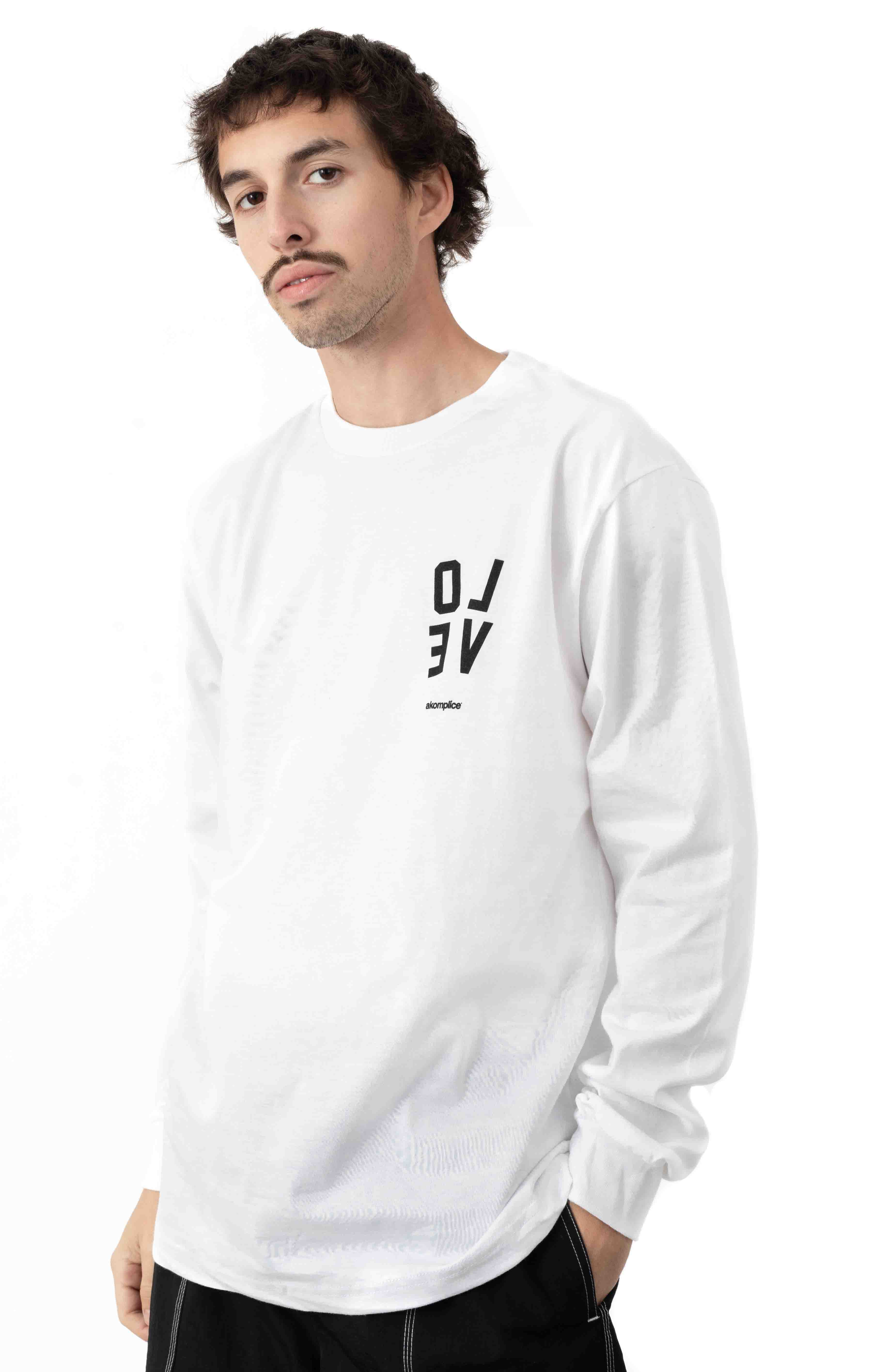 The Wrong Amazon L/S Shirt - White 2