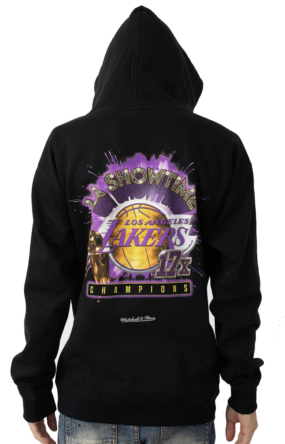NBA Showtime 17x Pullover Hoodie - Los Angeles Lakers