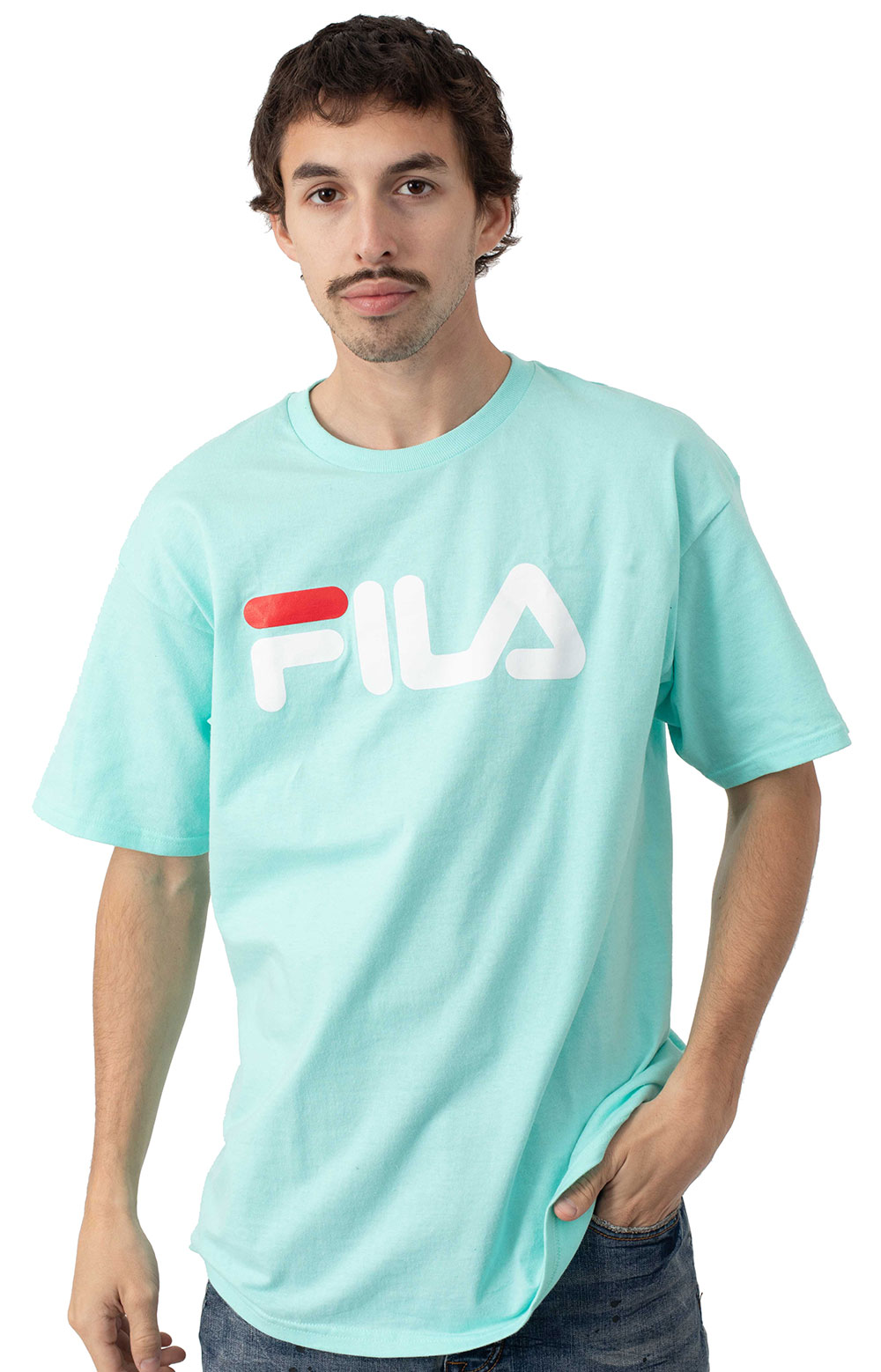 Fila Printed T-Shirt - Teal
