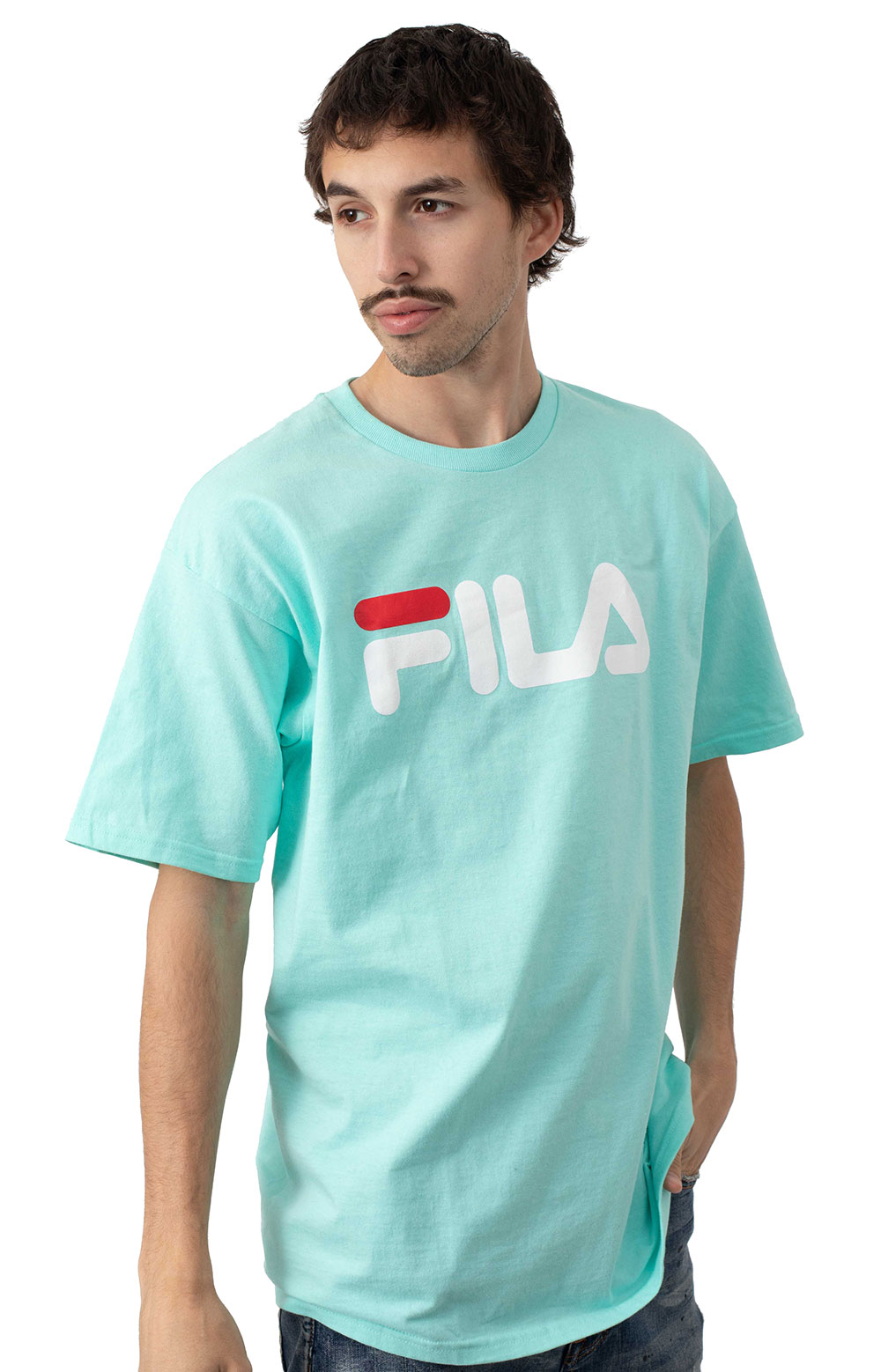 Fila Printed T-Shirt - Teal 2