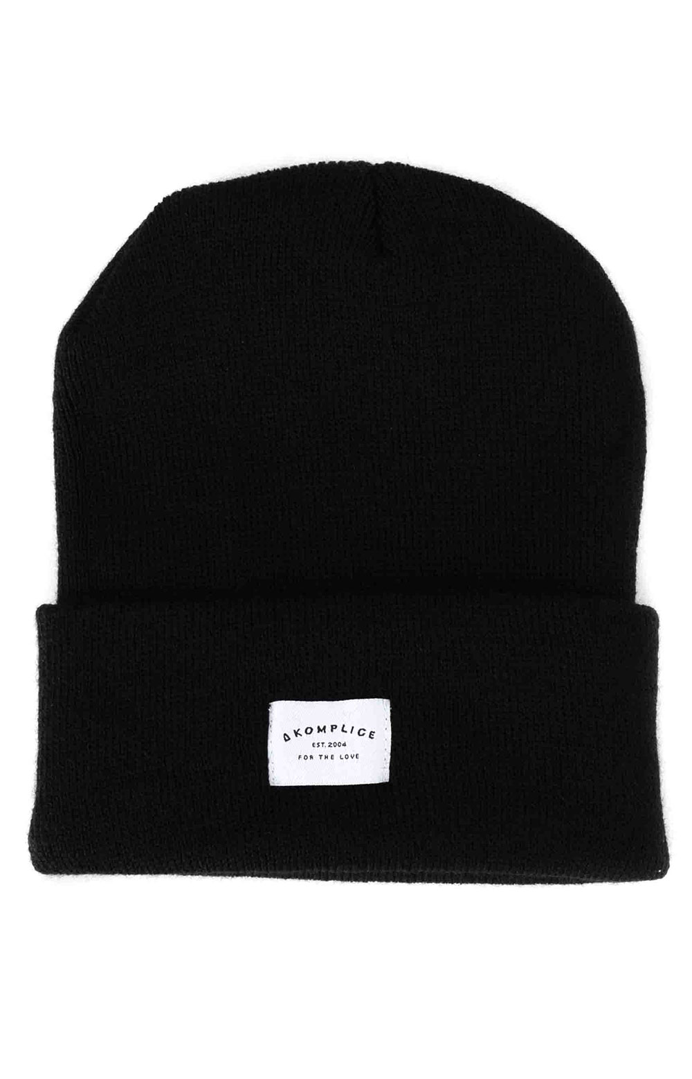 Akomplice Label Beanie - Black