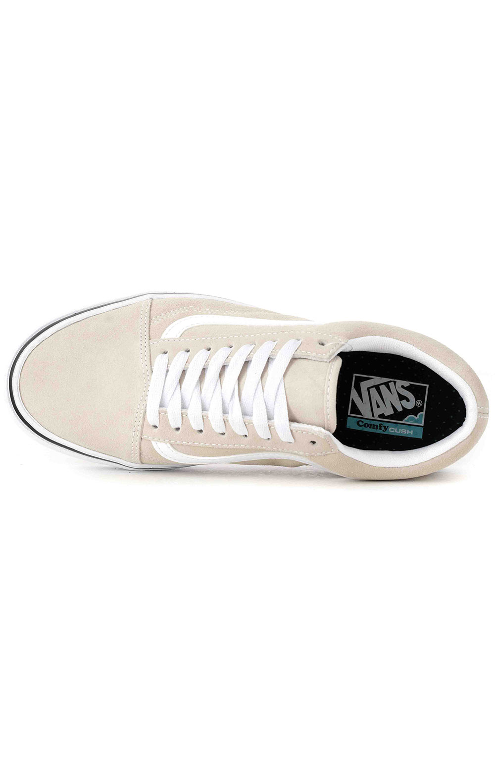 (WMA2QQ) Suede ComfyCush Old Skool Shoes - Oatmeal 2