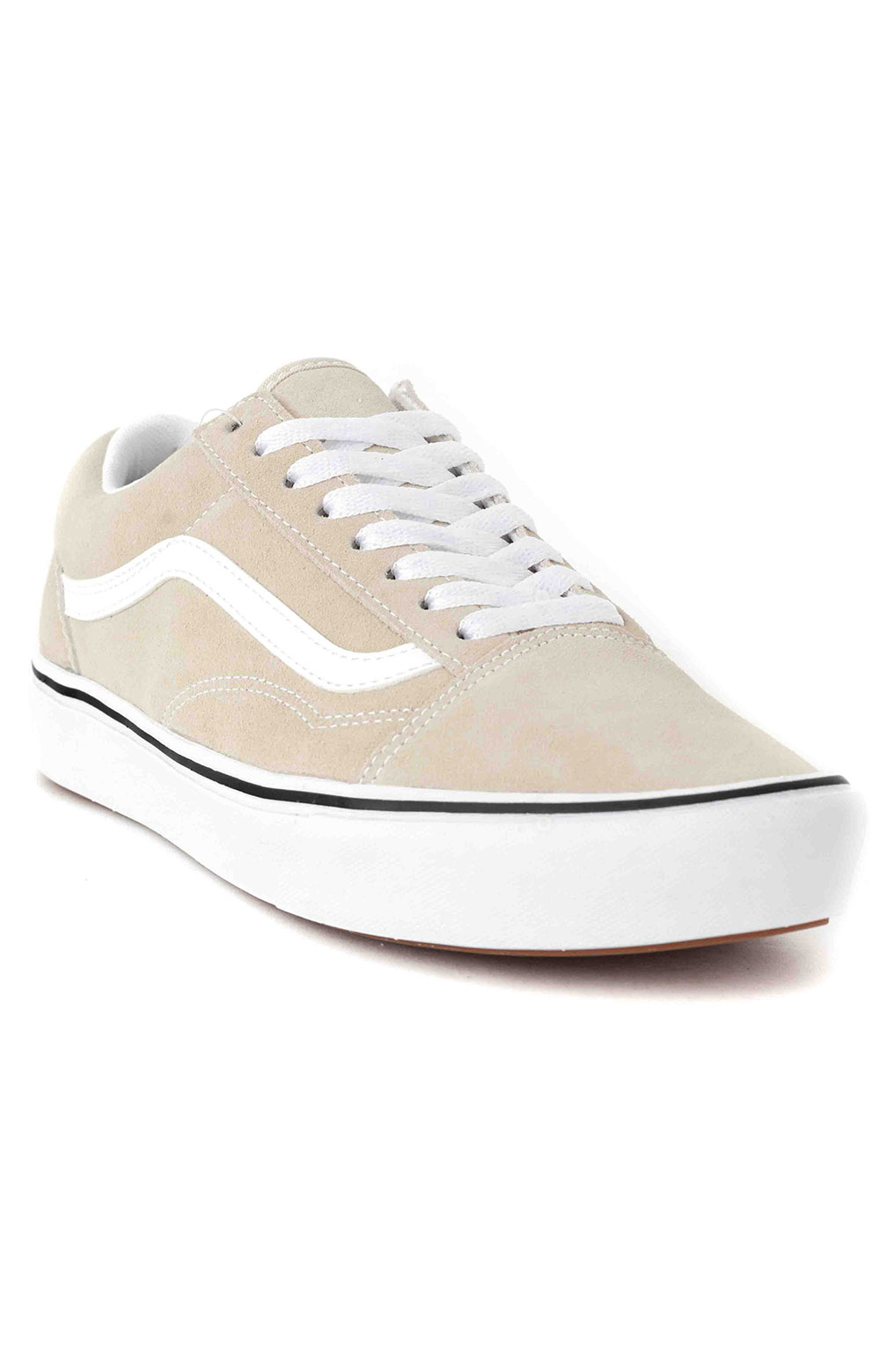 (WMA2QQ) Suede ComfyCush Old Skool Shoes - Oatmeal 3