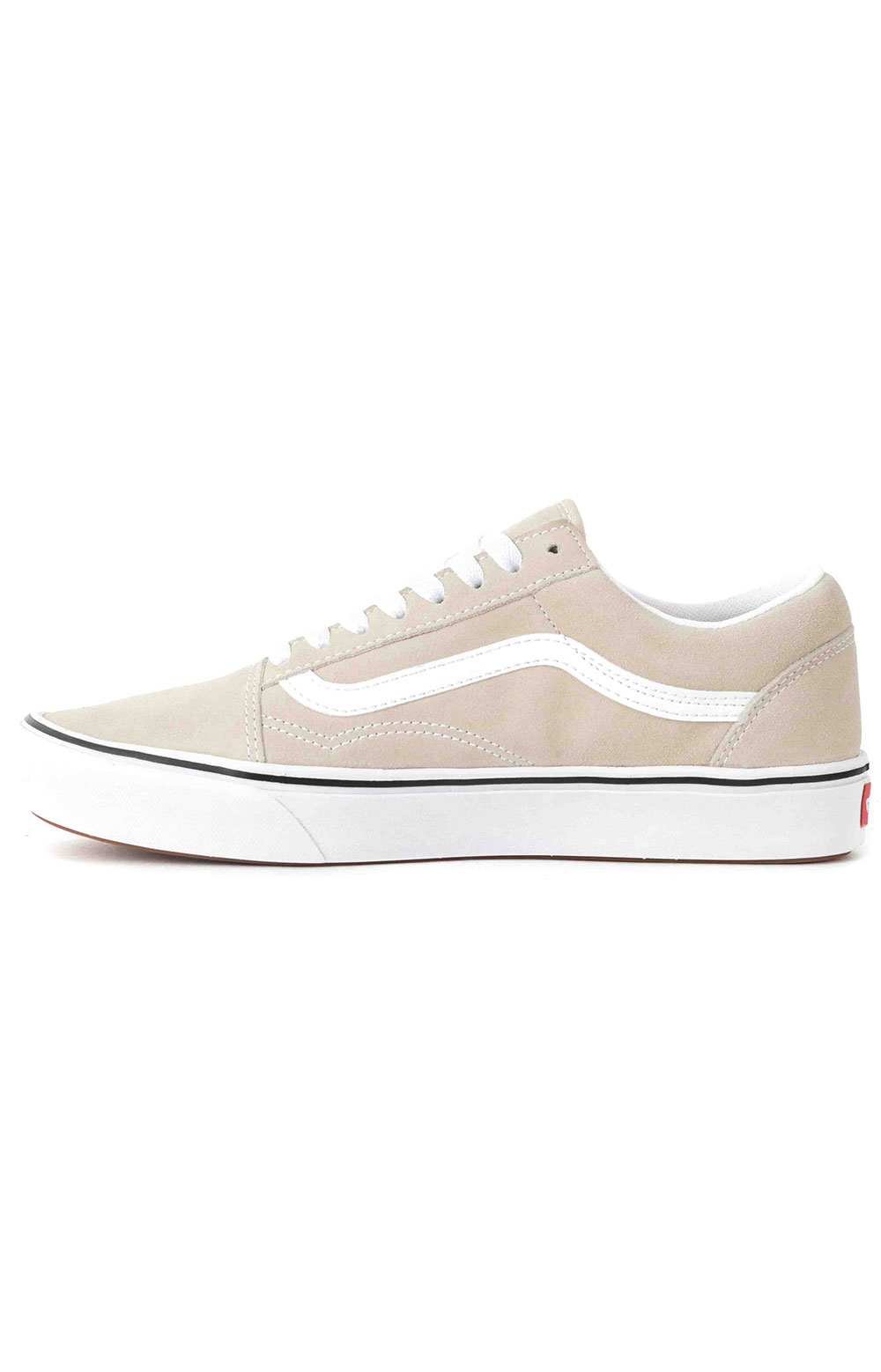 (WMA2QQ) Suede ComfyCush Old Skool Shoes - Oatmeal 4