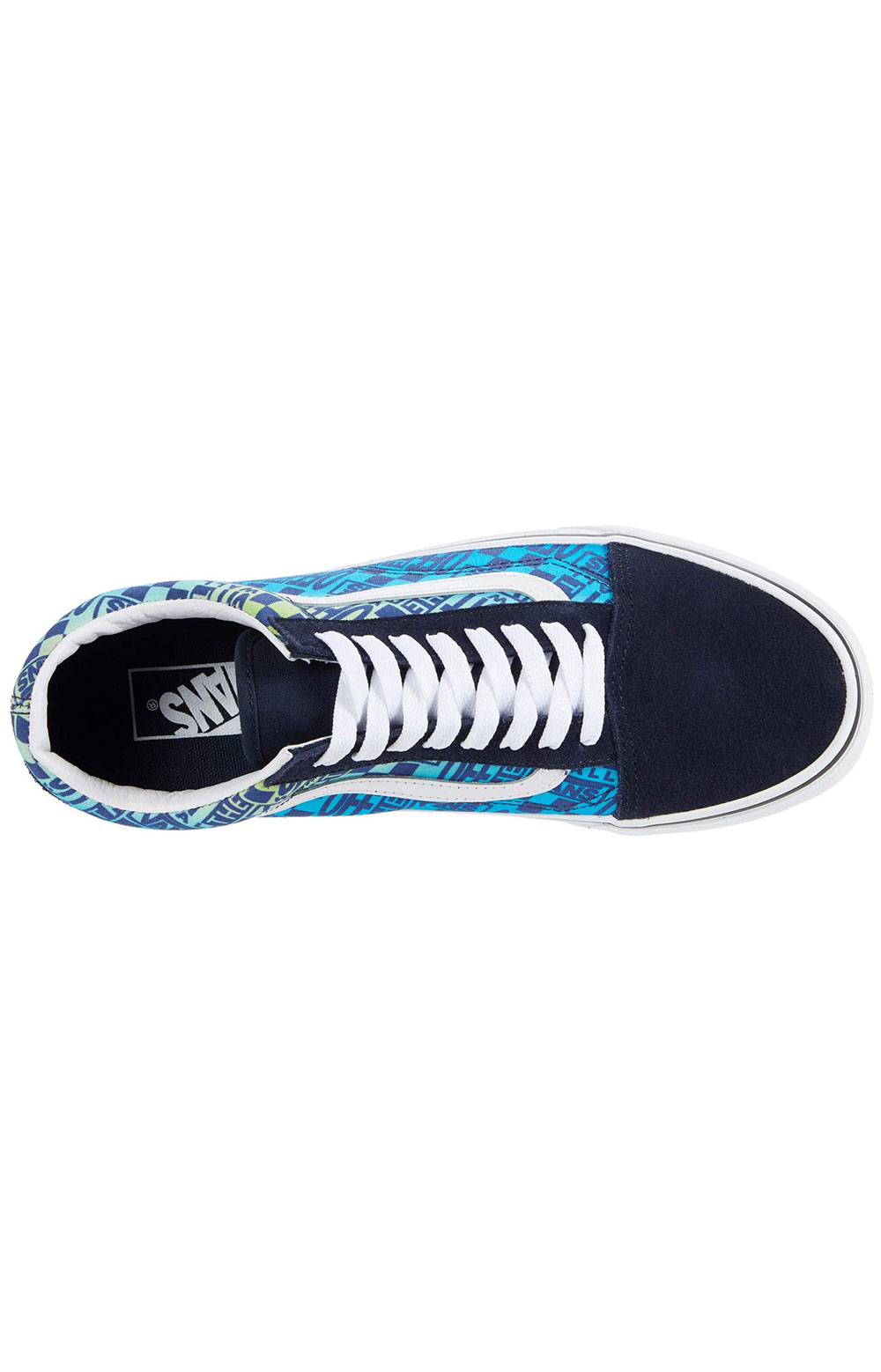 (U3B2PA) Logo Flame Old Skool Shoes - Parisian Night 4