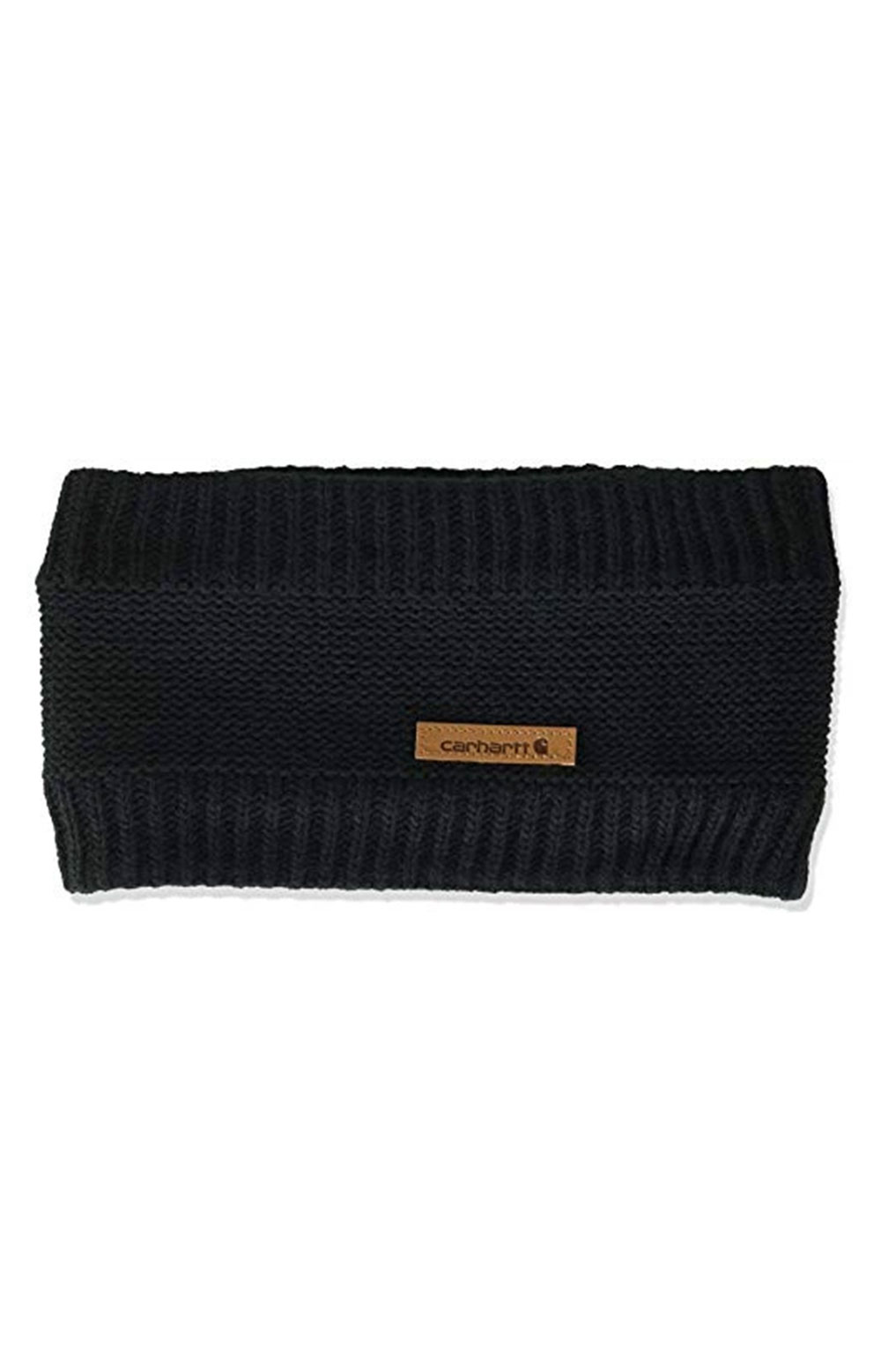 (104402) Knit Fleece Lined Headband - Black