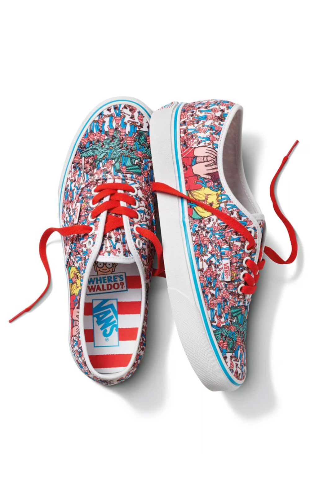 (48A3RZ) Authentic Shoes - Land Of Waldos 2