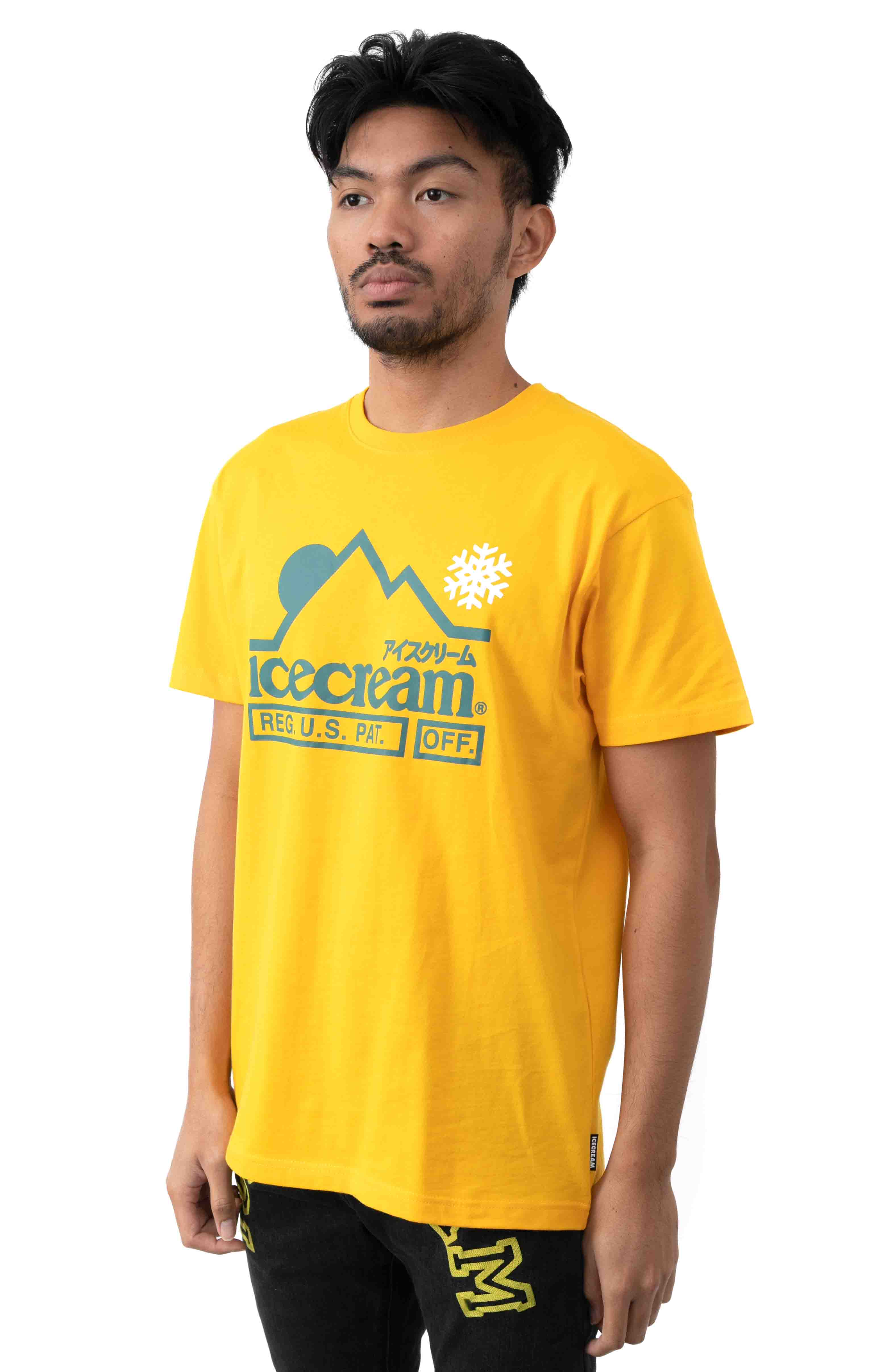 At The Top T-Shirt - Spectra Yellow 2