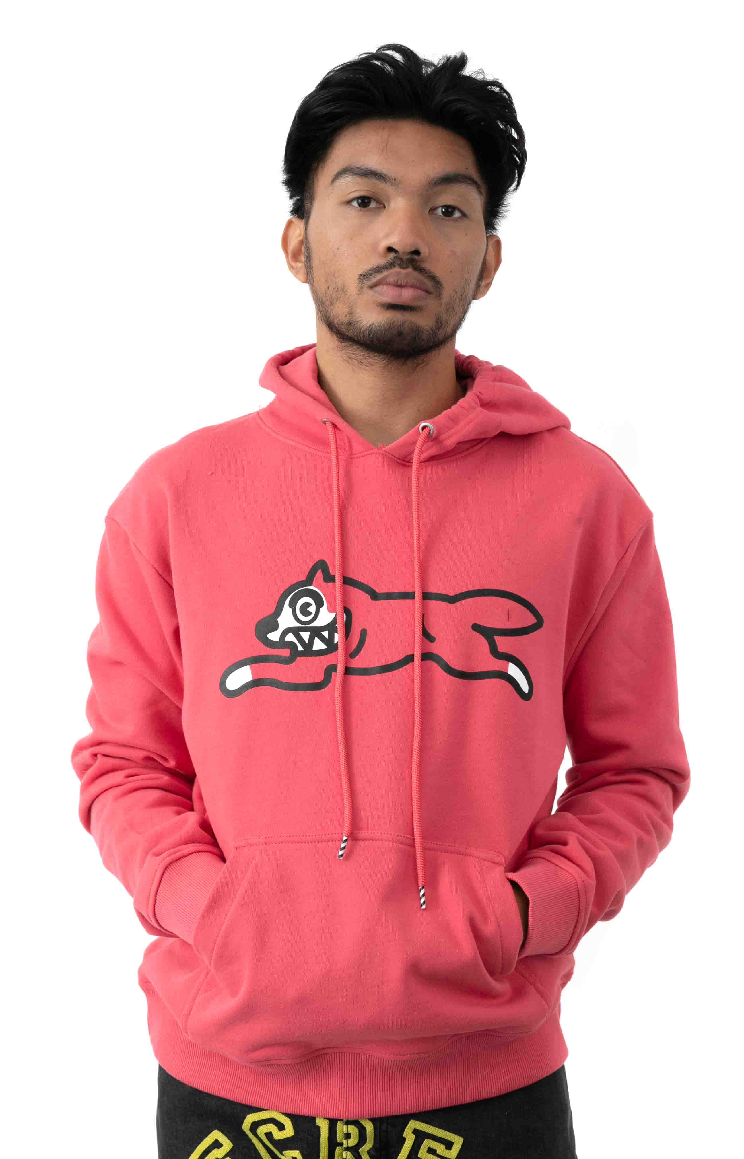 Dog Pullover Hoodie - Claret Red