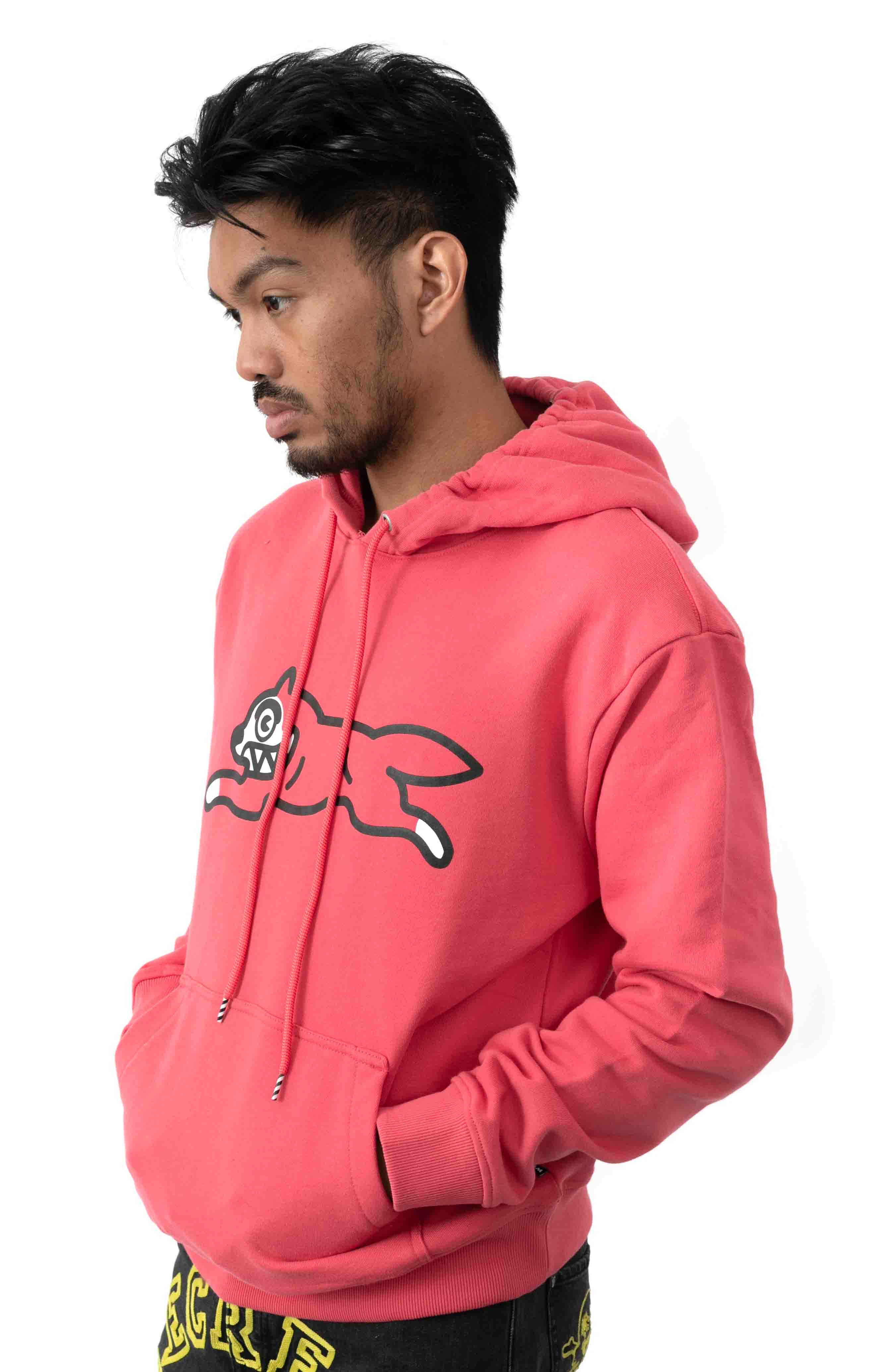 Dog Pullover Hoodie - Claret Red  2