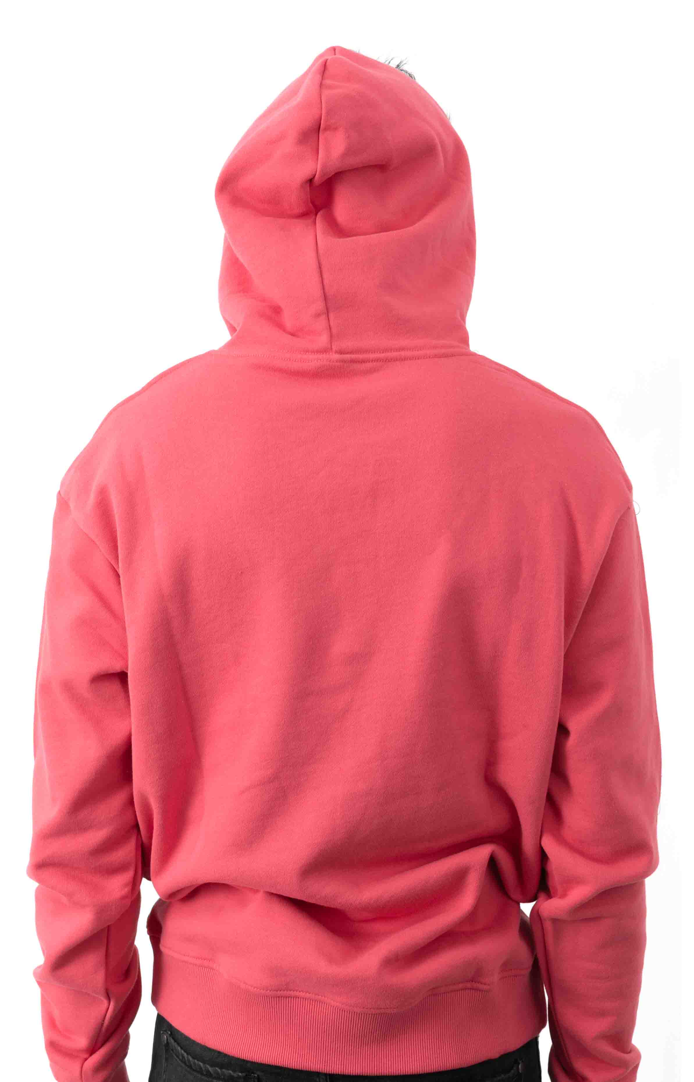 Dog Pullover Hoodie - Claret Red  3