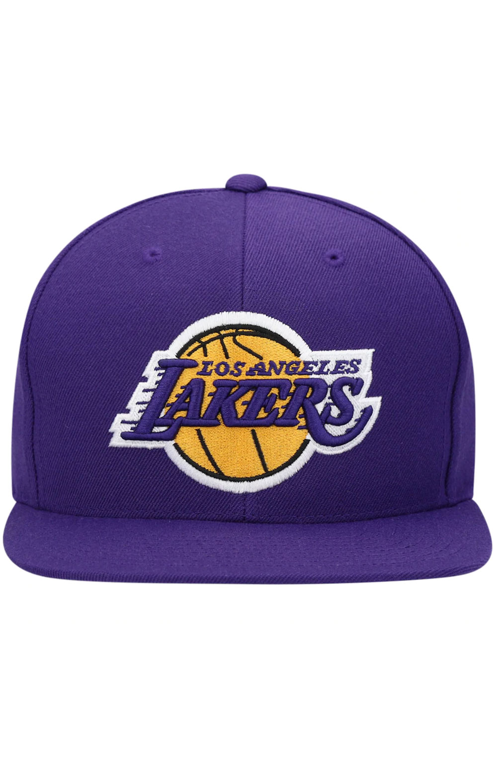 NBA Team Ground Snap-Back Hat - Lakers 2