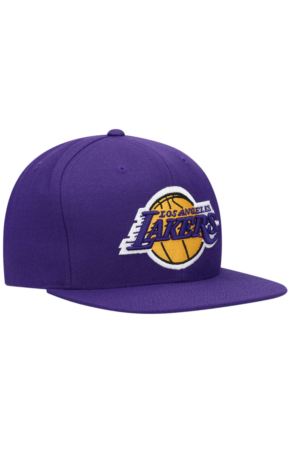 NBA Team Ground Snap-Back Hat - Lakers 3