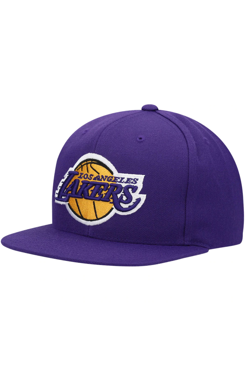 NBA Team Ground Snap-Back Hat - Lakers
