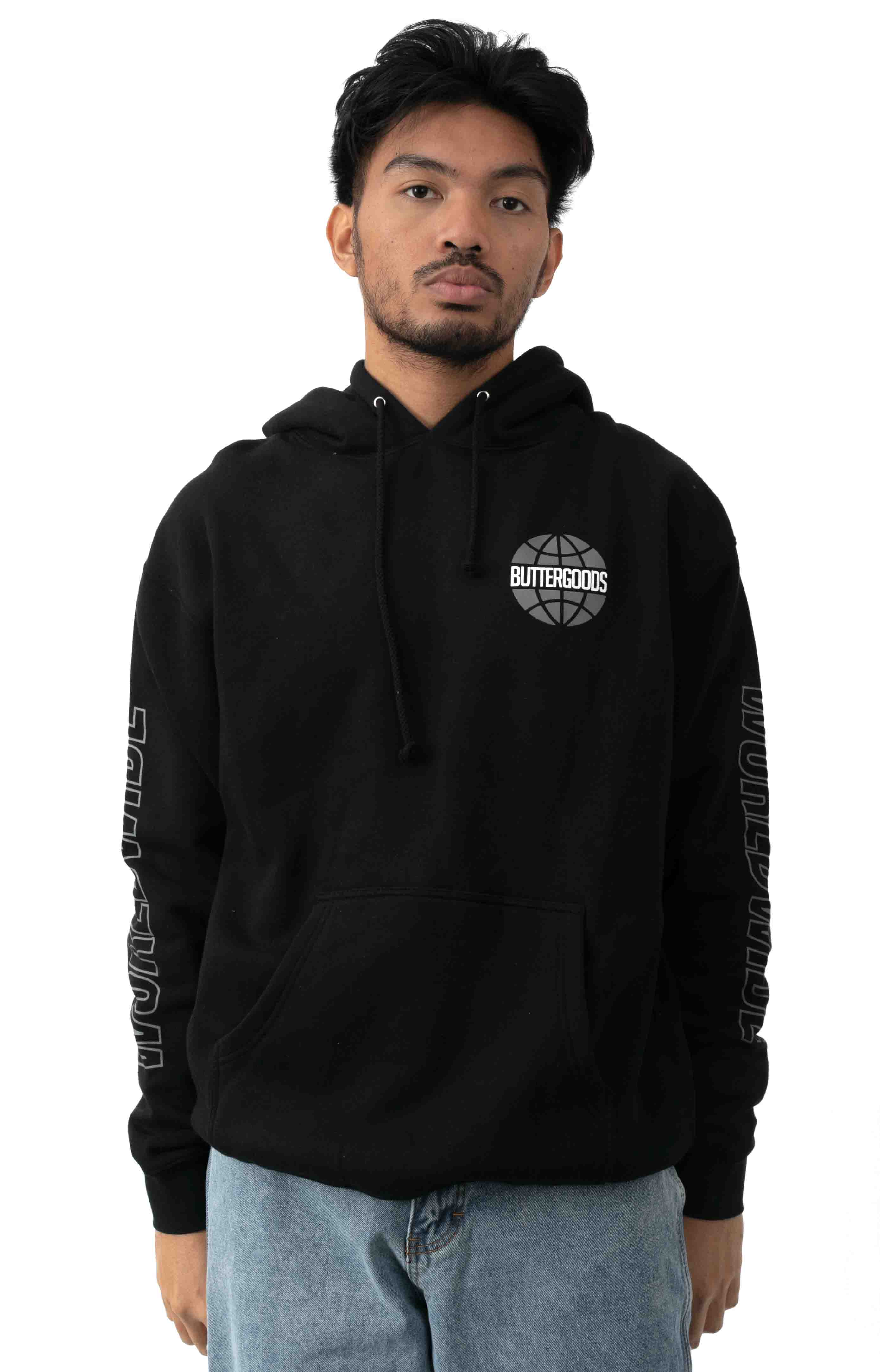 Chrome Worldwide Pullover Hoodie - Black 2