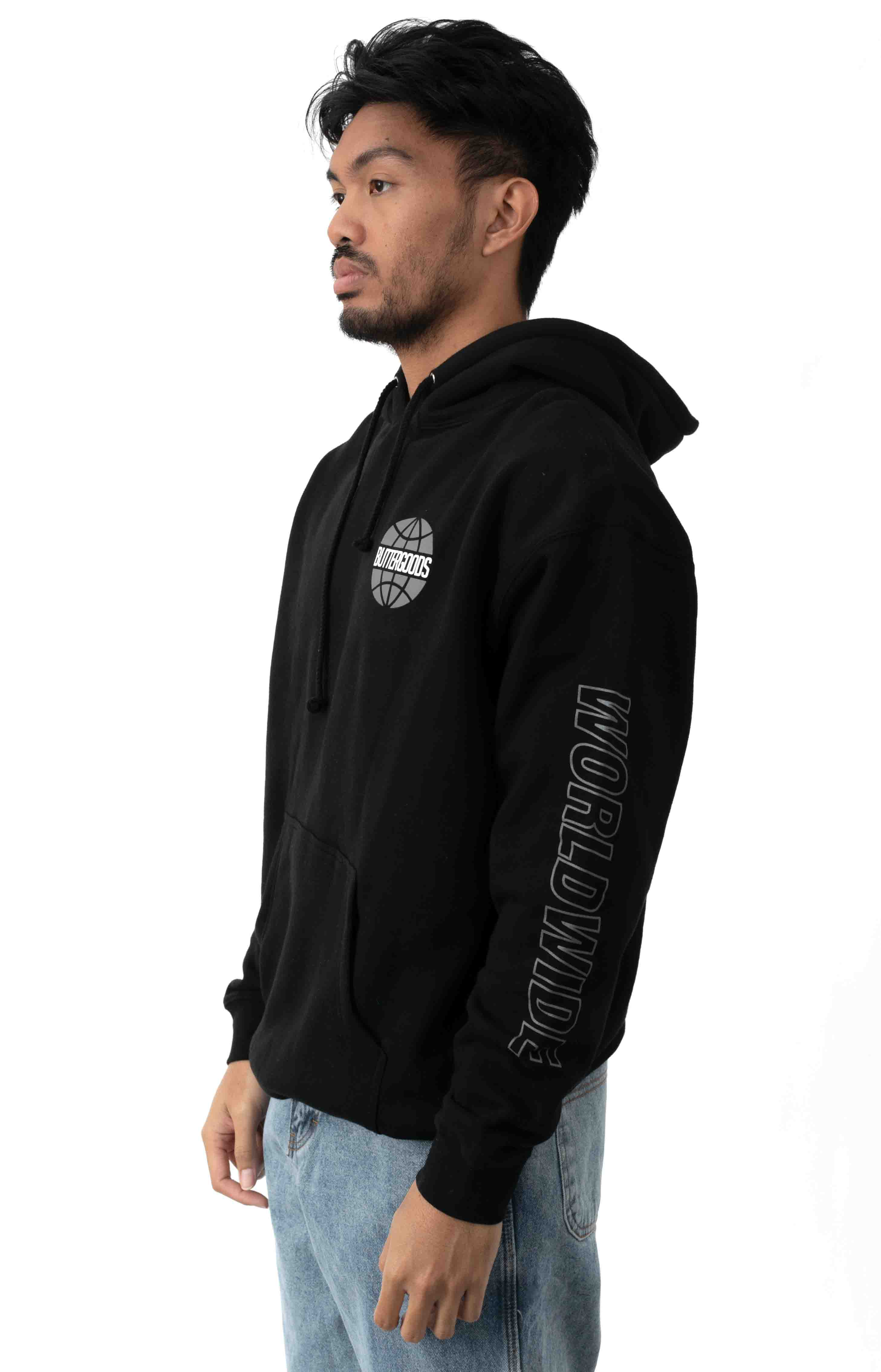 Chrome Worldwide Pullover Hoodie - Black 3