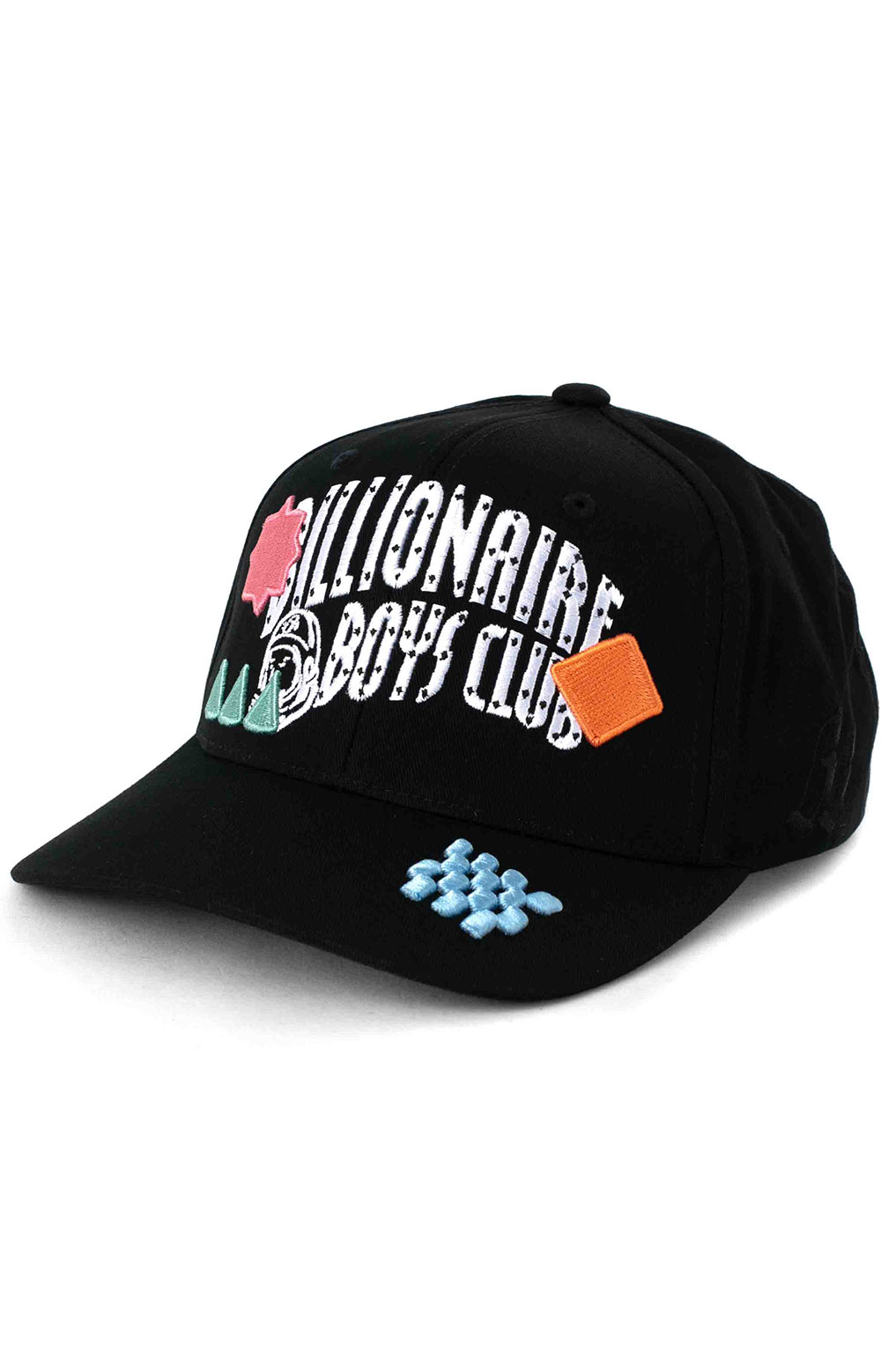 BB Arch Snap-Back Hat - Black