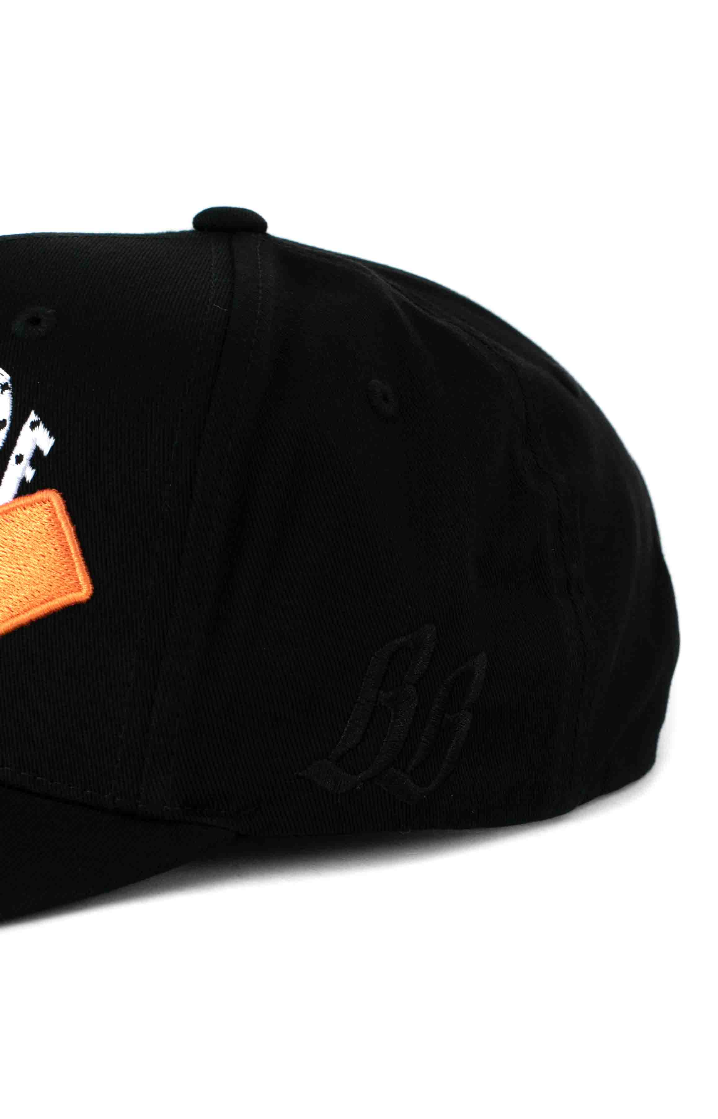 BB Arch Snap-Back Hat - Black 3