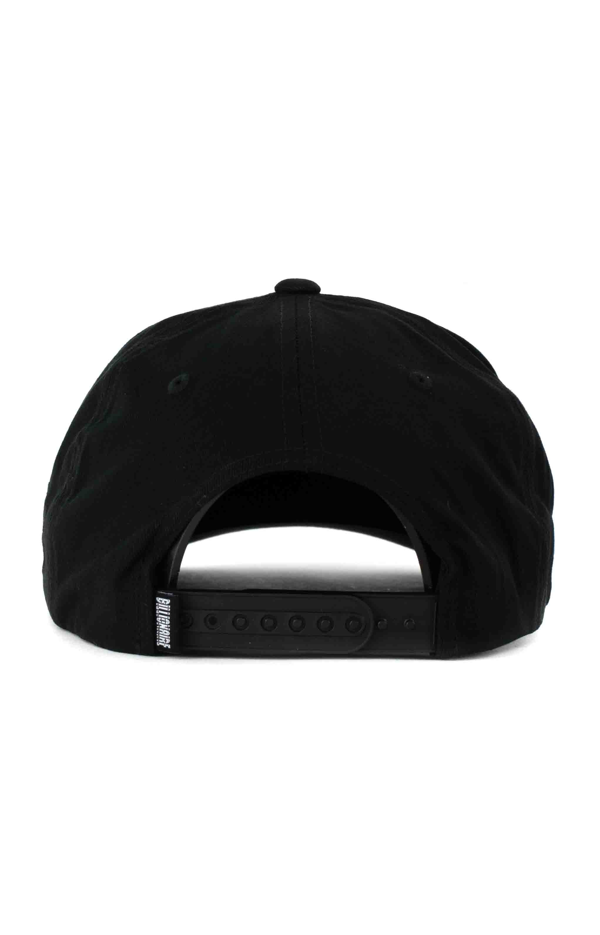 BB Arch Snap-Back Hat - Black 4