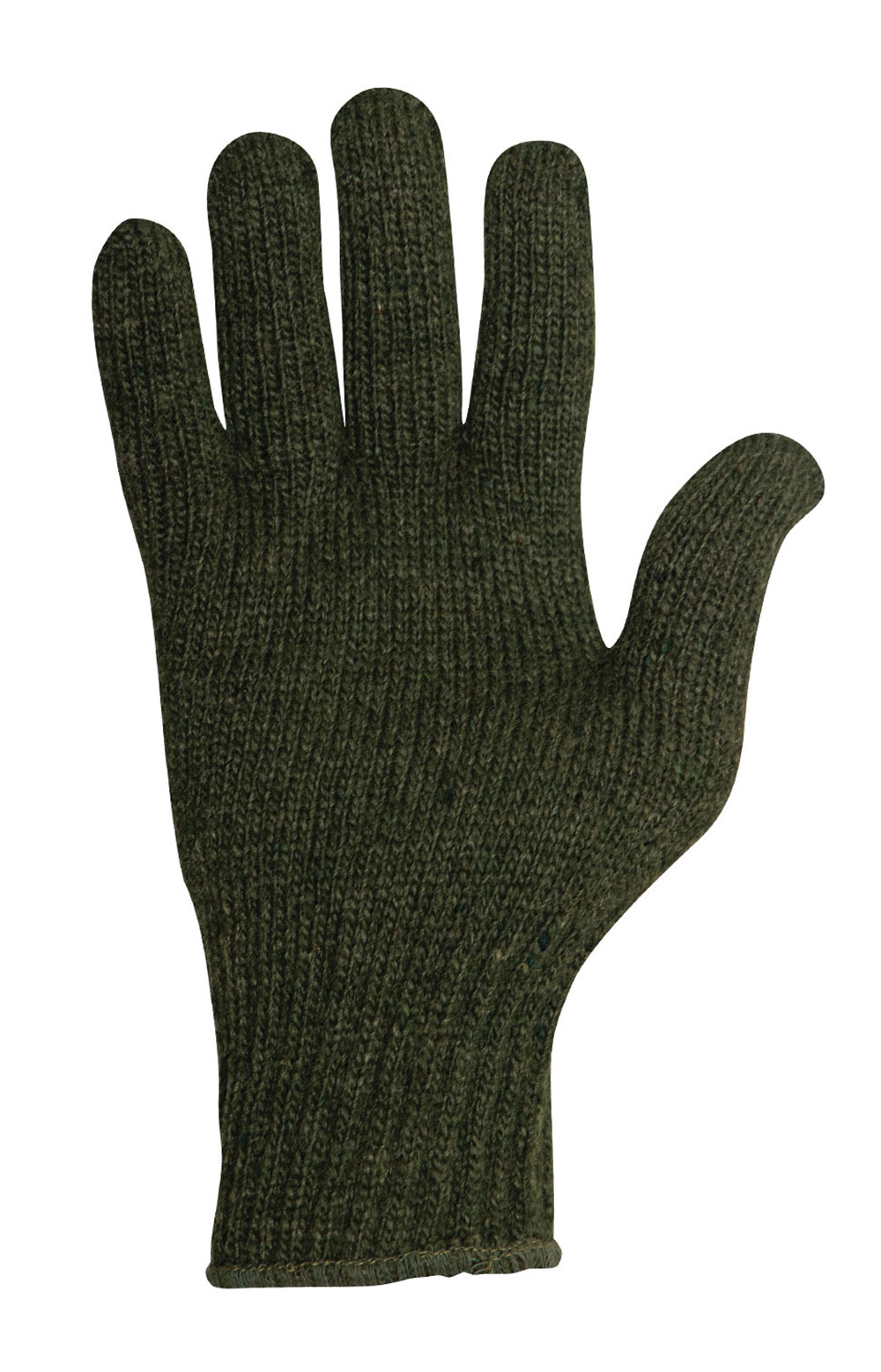 (8218) Wool Glove Liners - Olive Drab 2