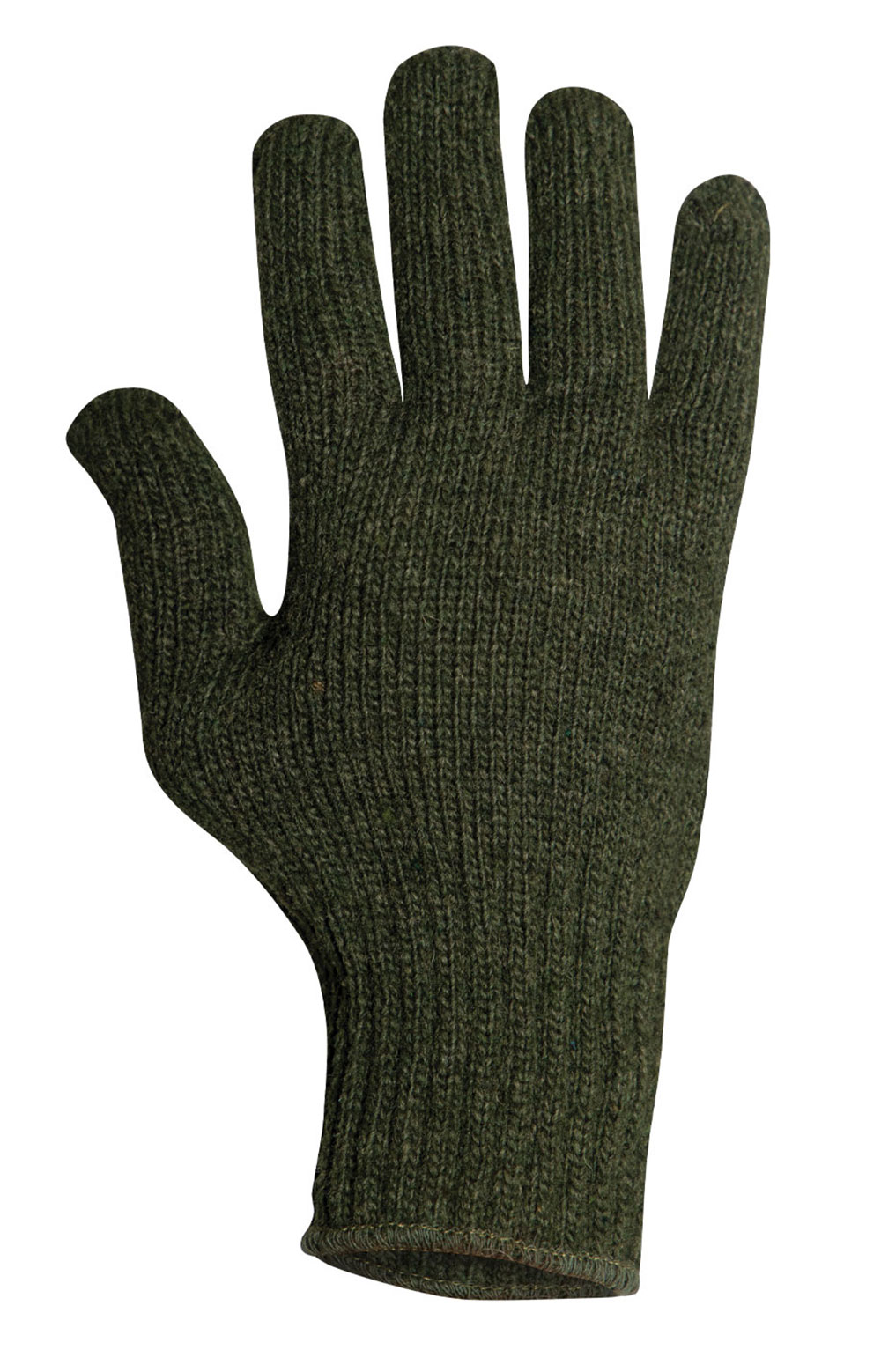 (8218) Wool Glove Liners - Olive Drab 3