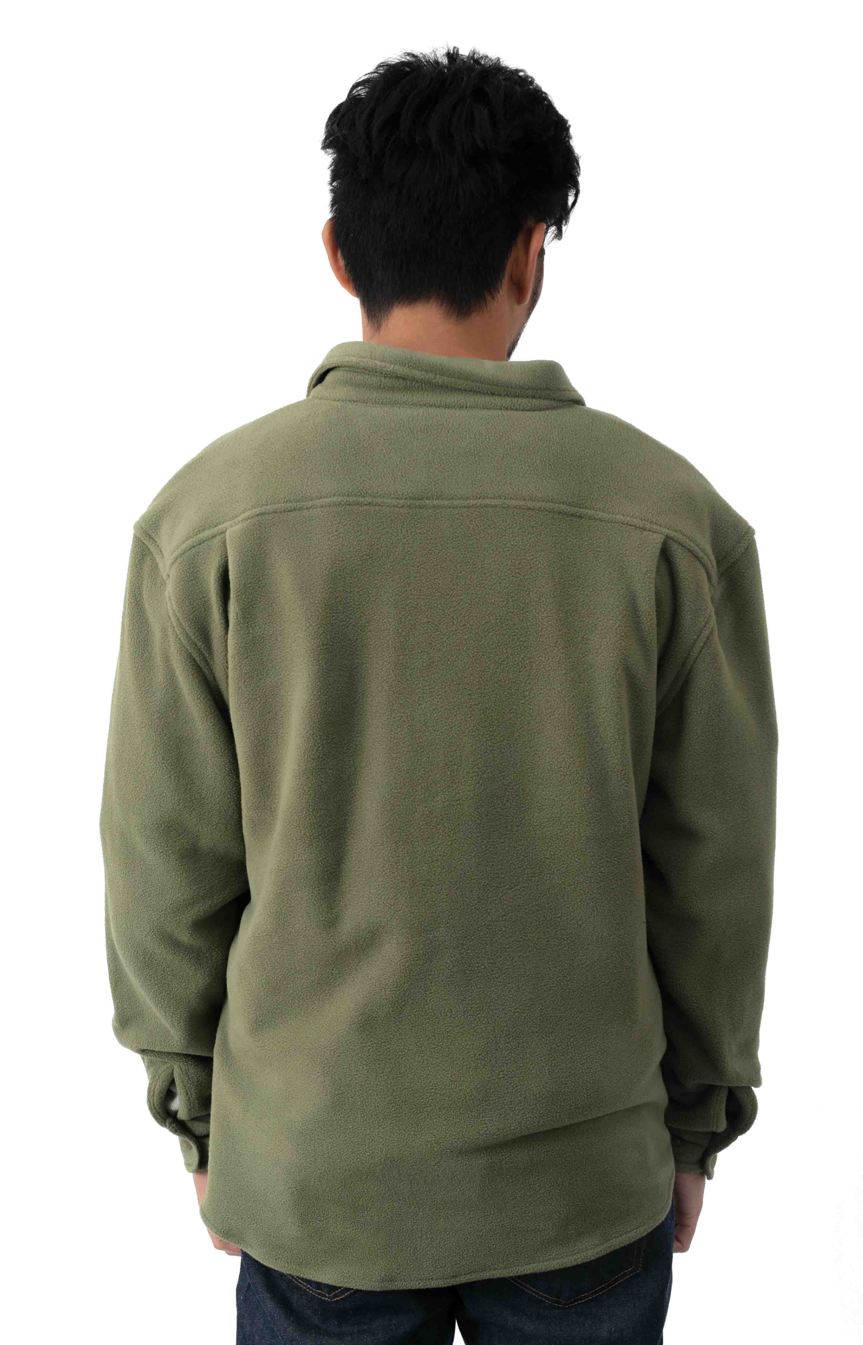 Bowery L/S Arctic Stretch Fleece - Military Olive 3