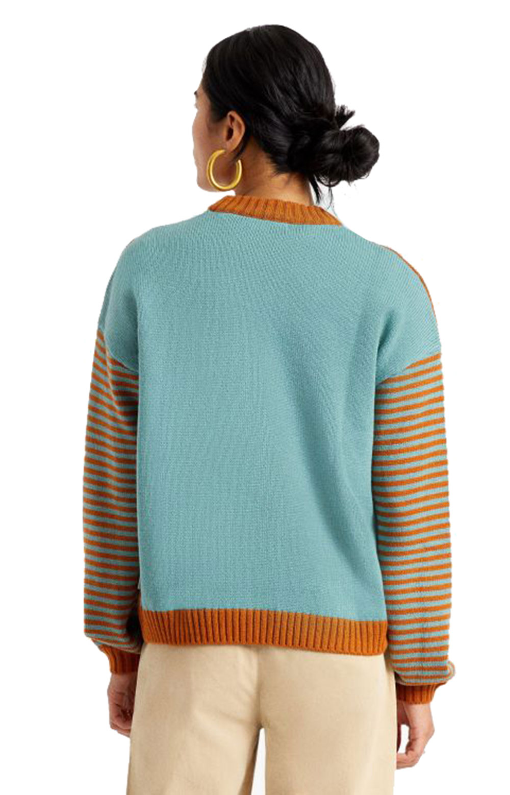 Lacey Sweater - Caramel  3
