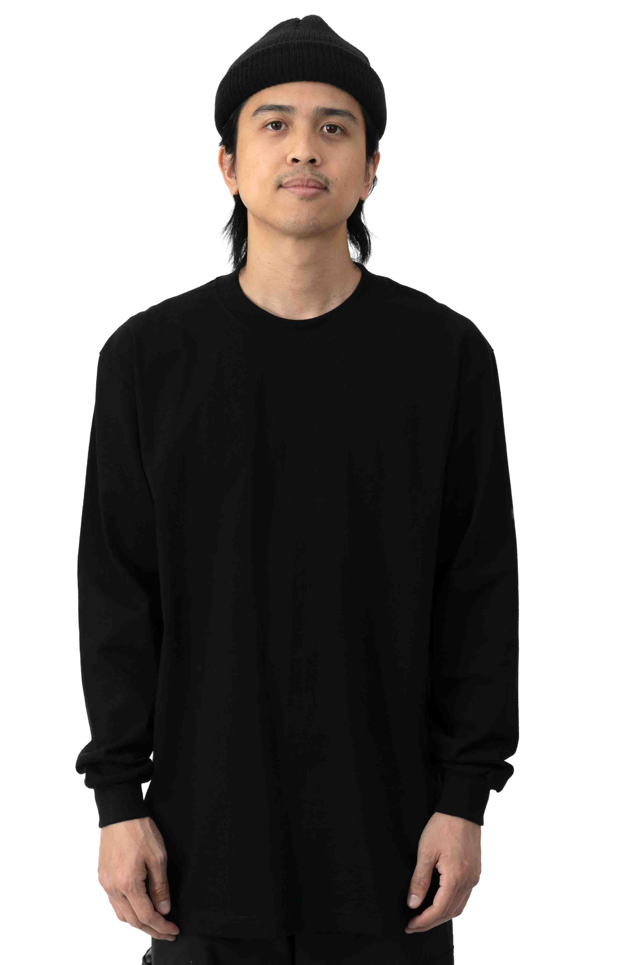 Max Heavyweight L/S Shirt - Black