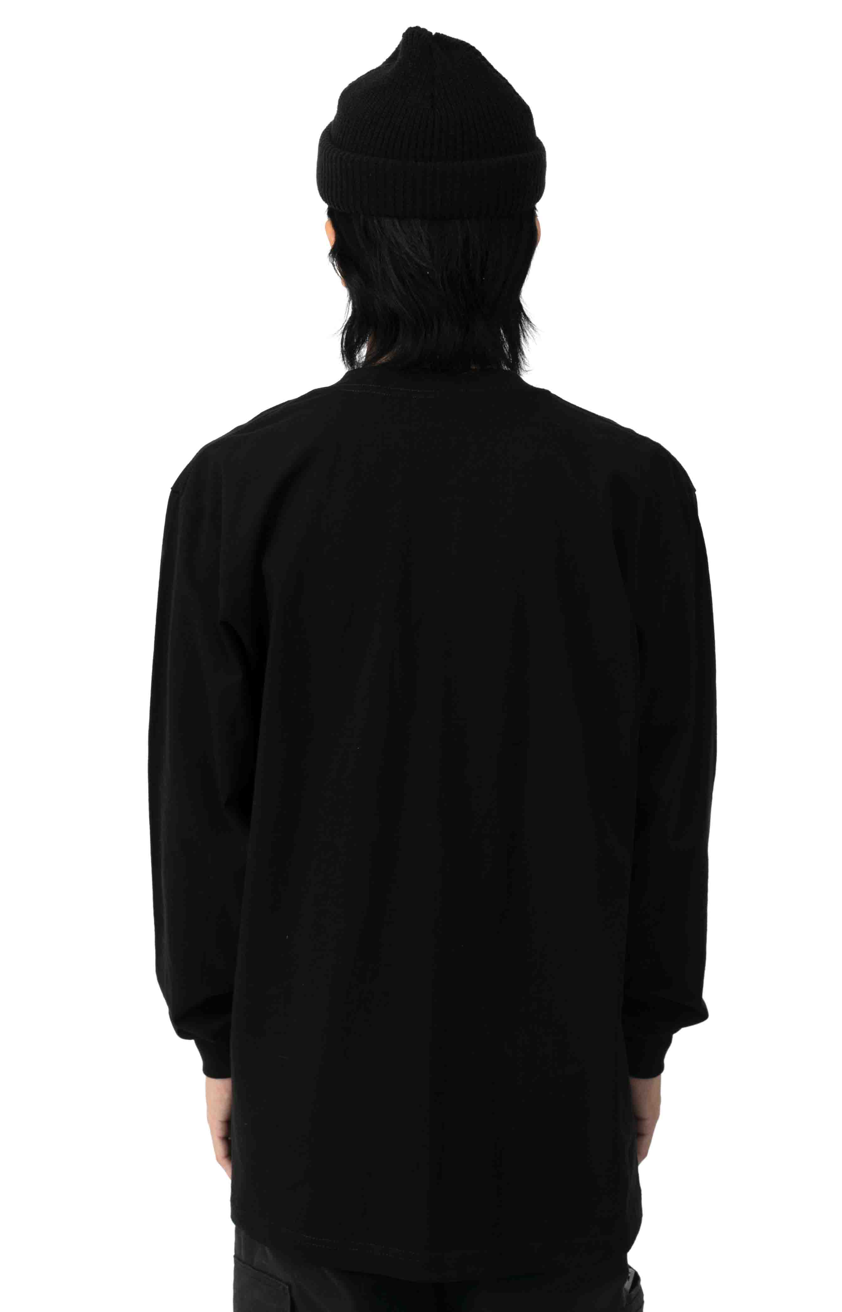 Max Heavyweight L/S Shirt - Black  3