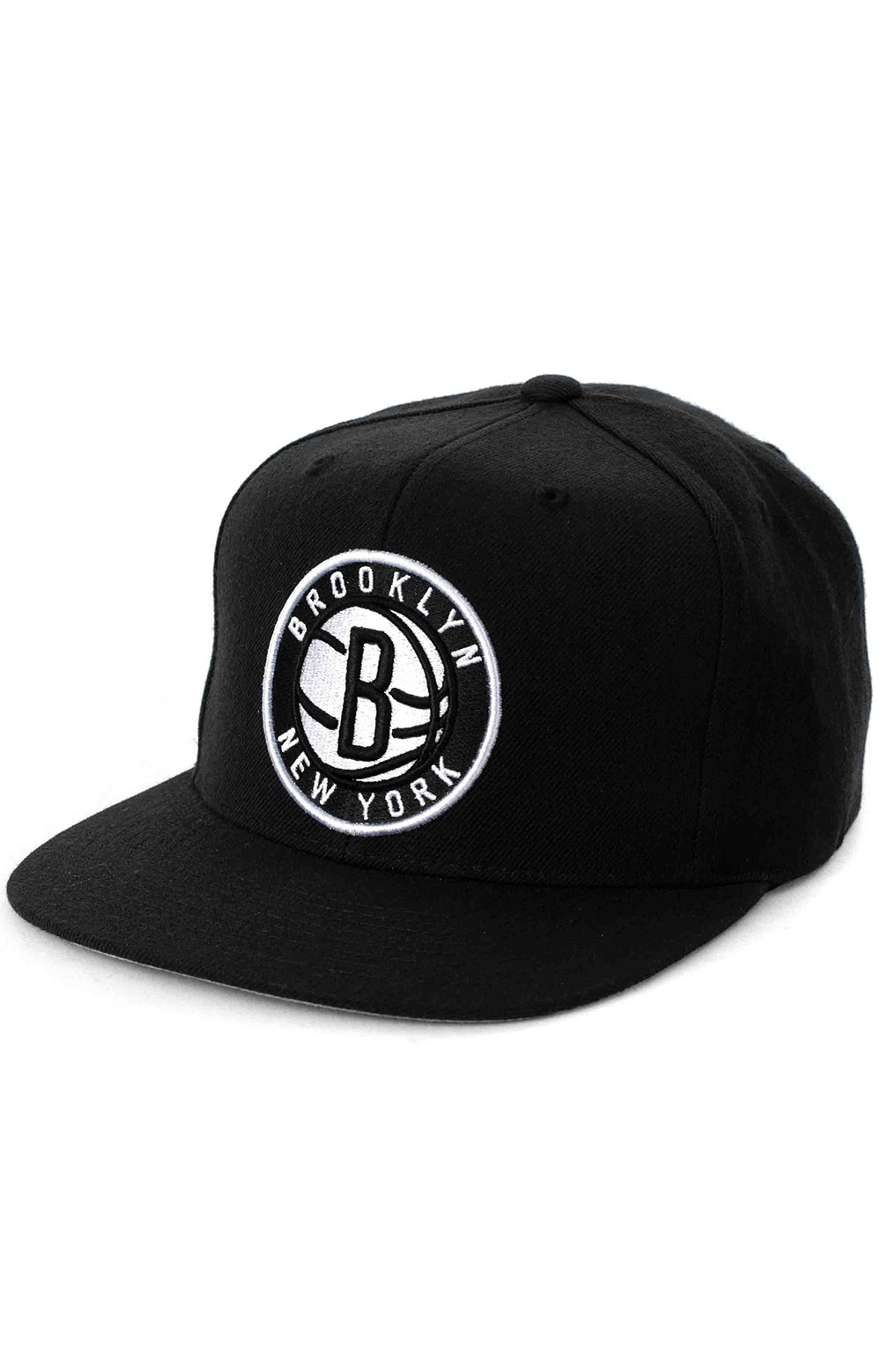 NBA Team Ground Snap-Back Hat - Nets