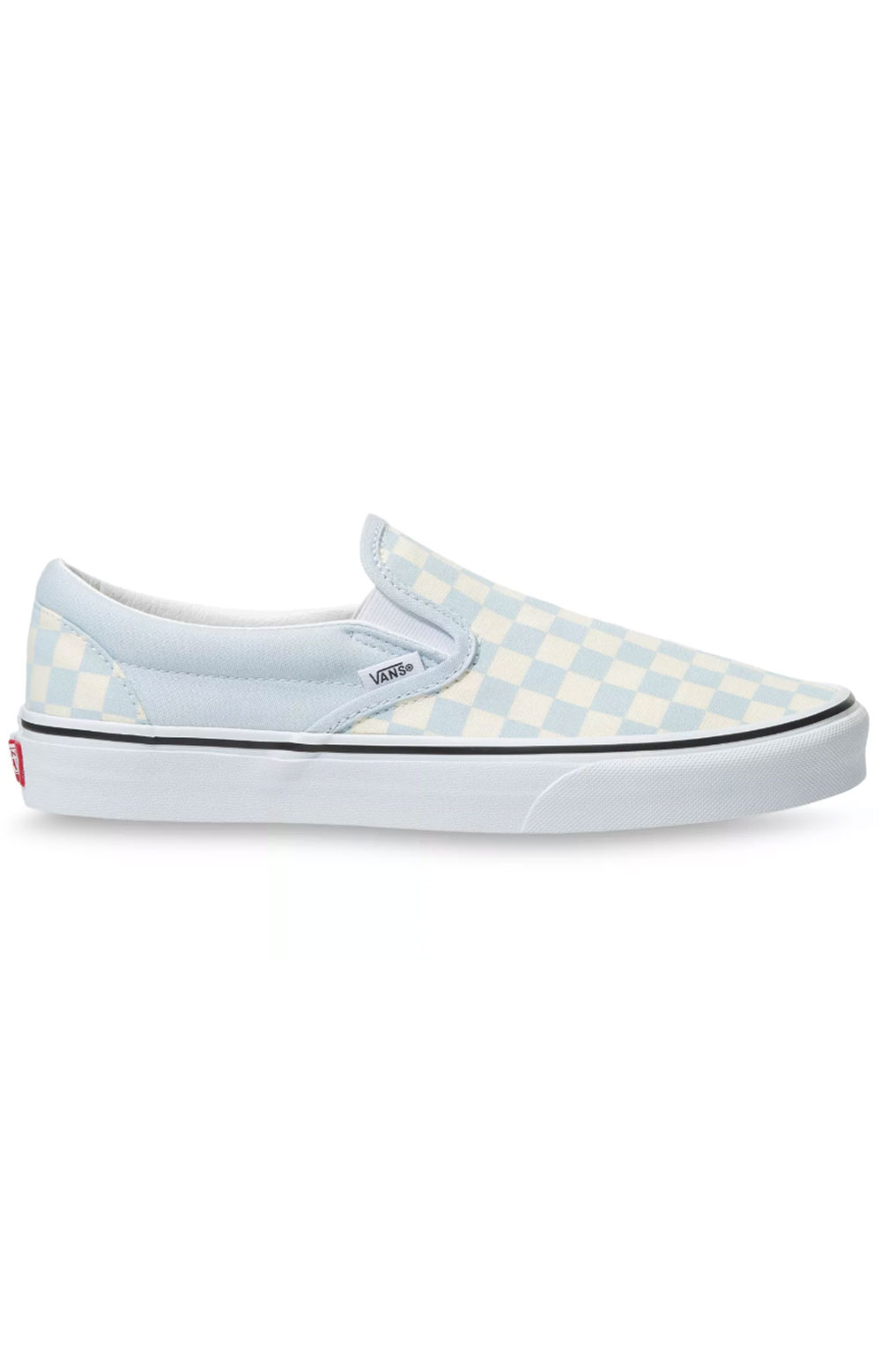 (3TB42Y) Checkerboard Classic Slip-On Shoes - Ballad Blue