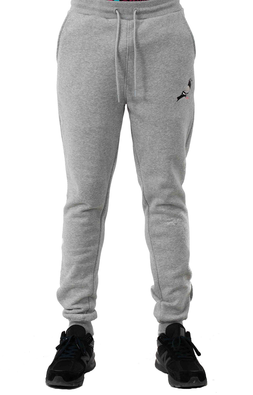 Pigeon Logo Sweatpant - Heather  1