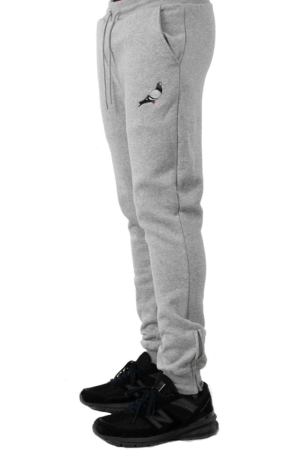 Pigeon Logo Sweatpant - Heather  2